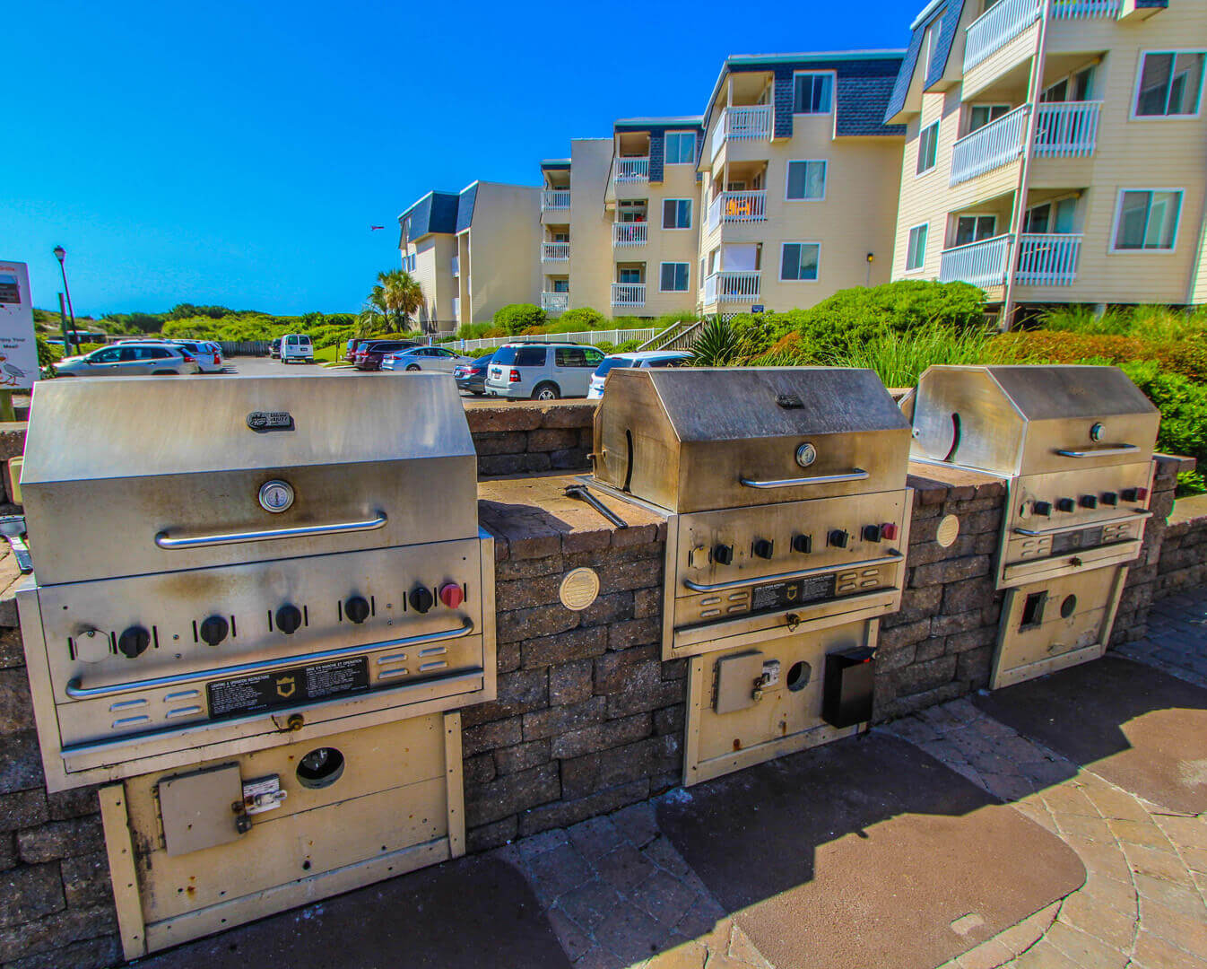 A Place At The Beach Resort BBQ Grills