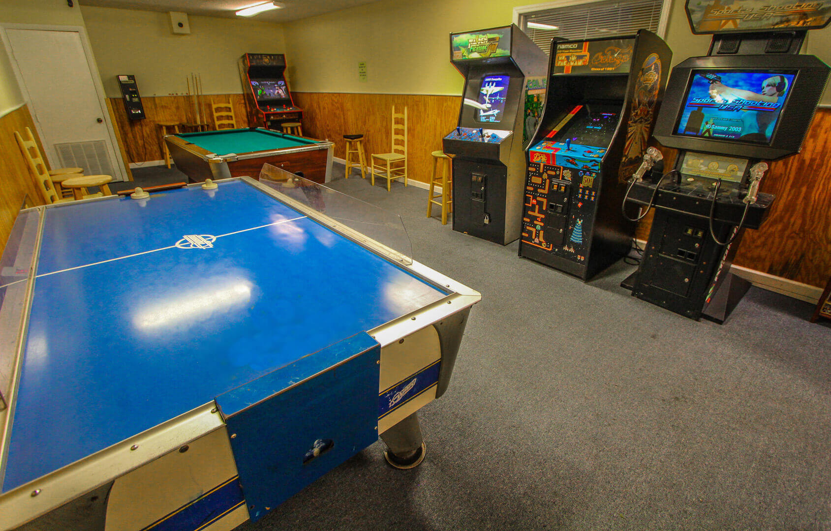 A Place At The Beach Resort Game Room