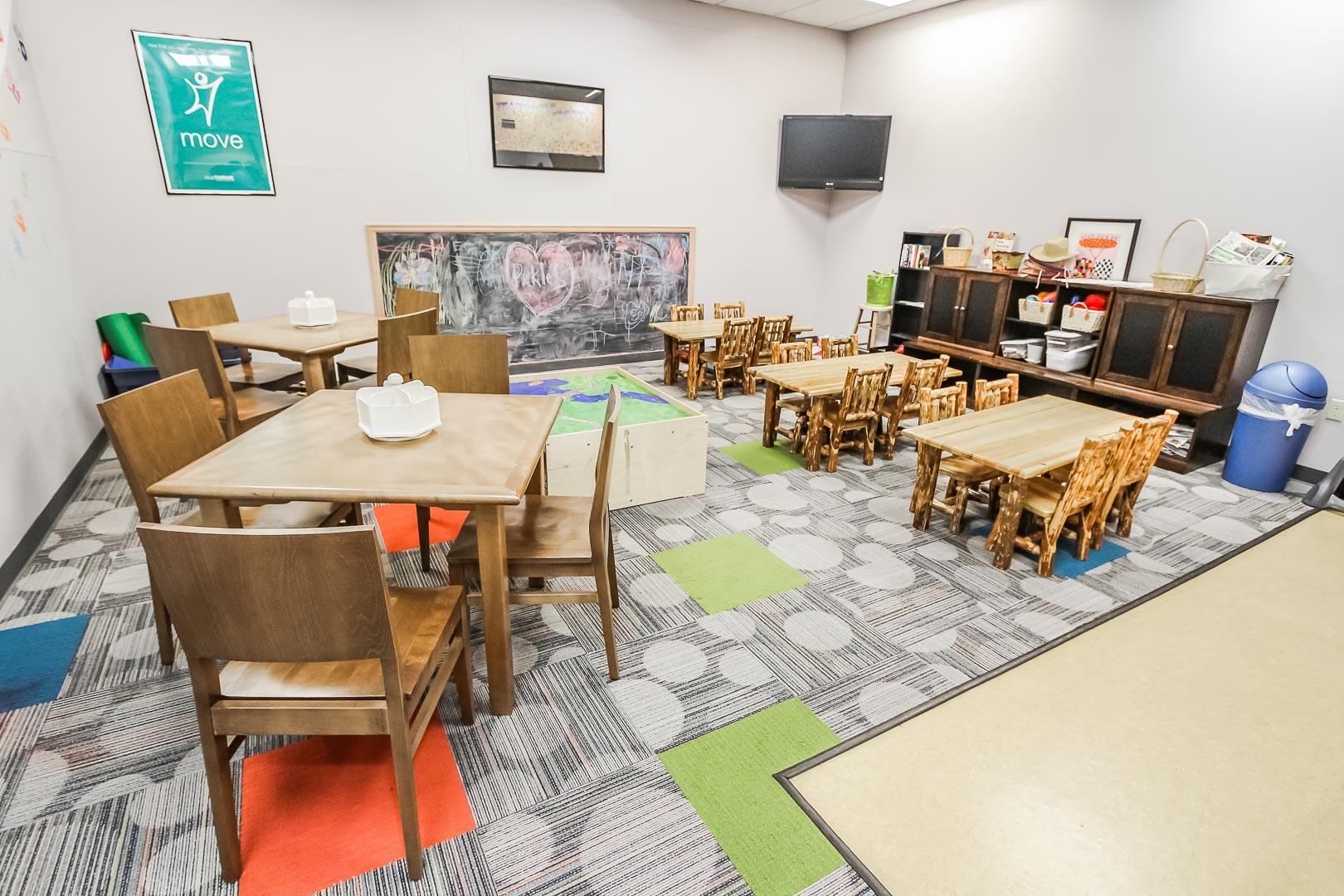 A vibrant children's room at VRI's Aspen at Streamside in Colorado.