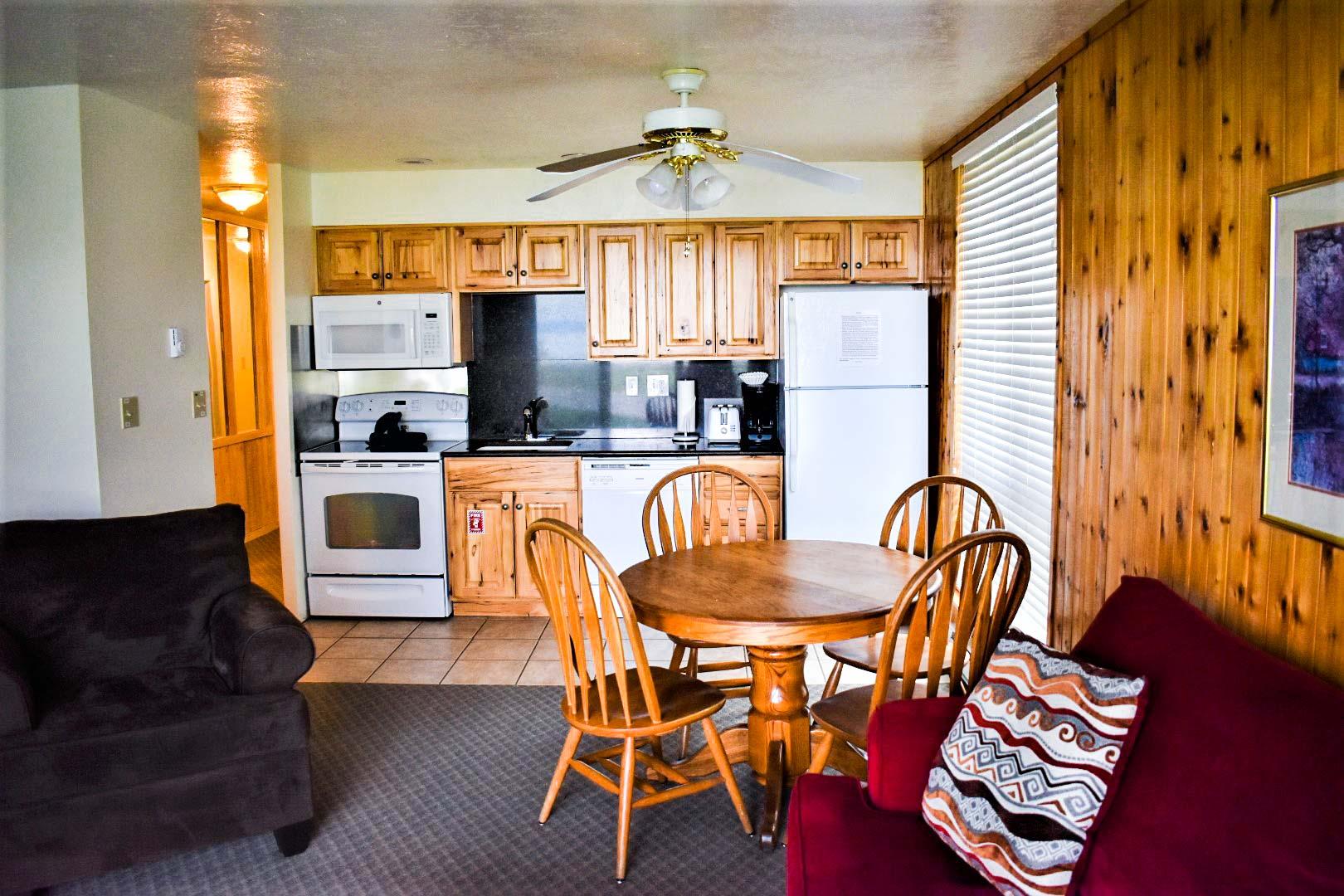 Bear Lake Condos Kitchen
