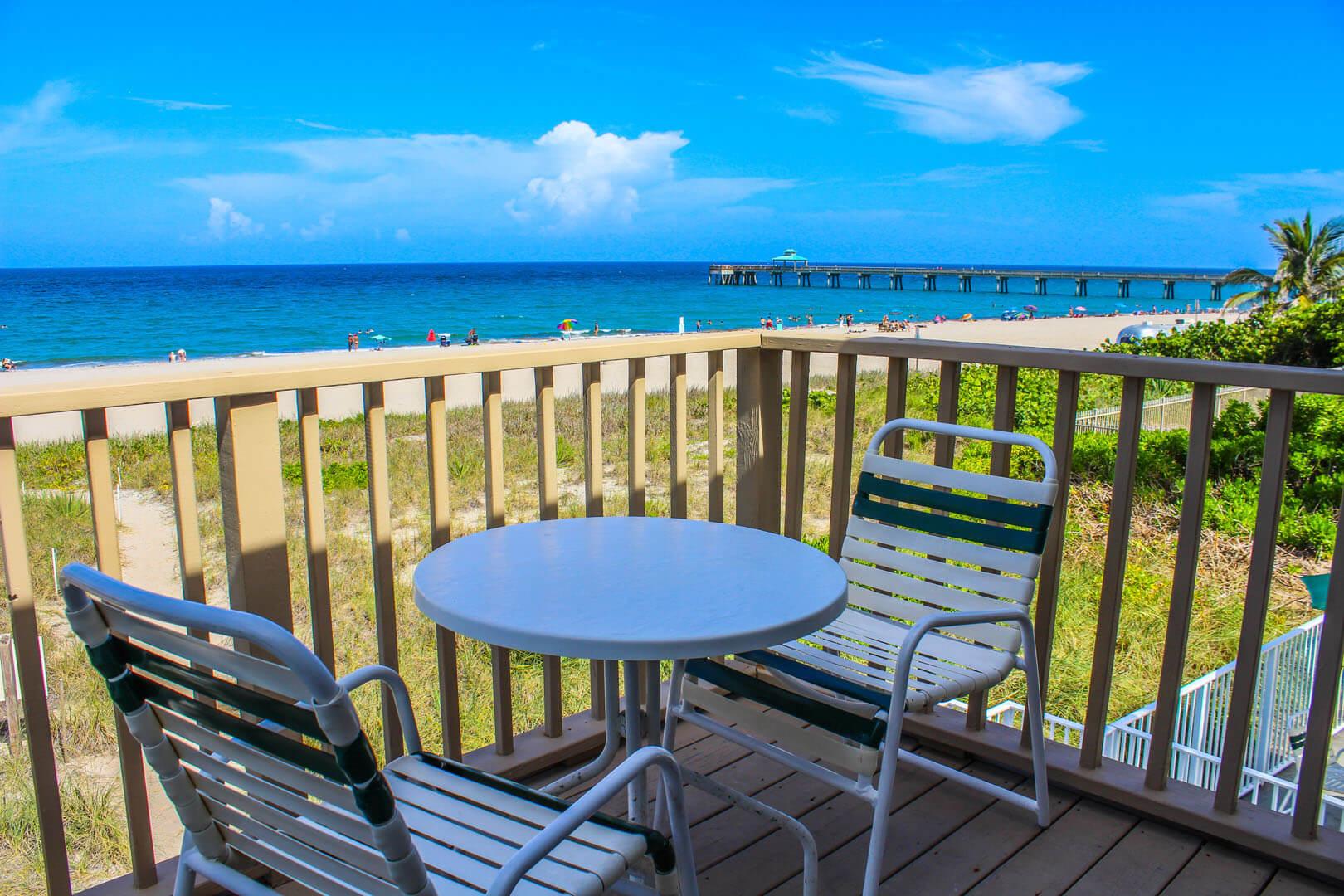 Birkshire Beach Club Balcony