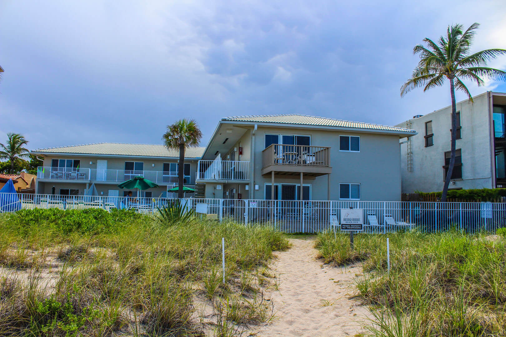 Birkshire Beach Club Building