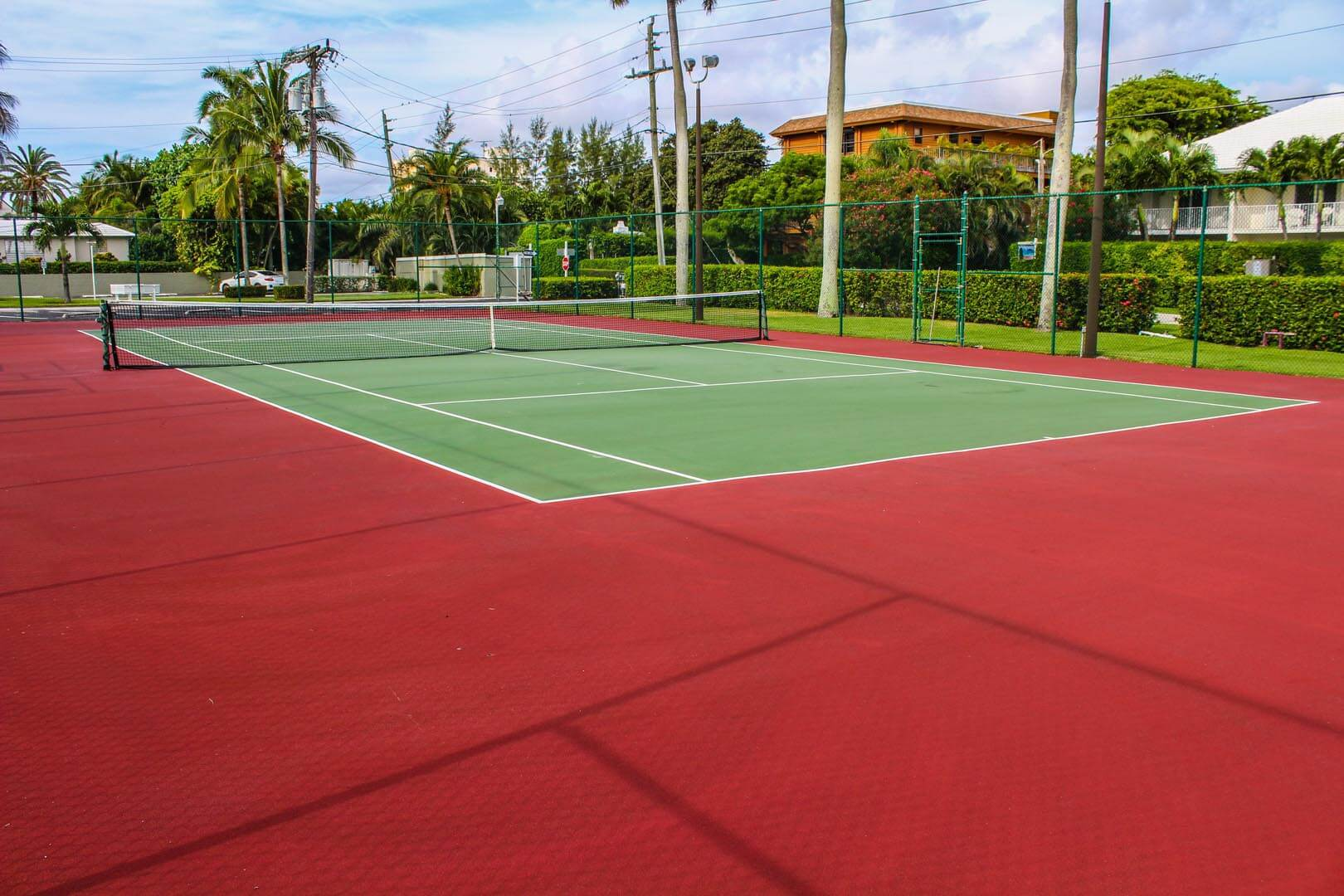 Birkshire By The Sea Tennis Court