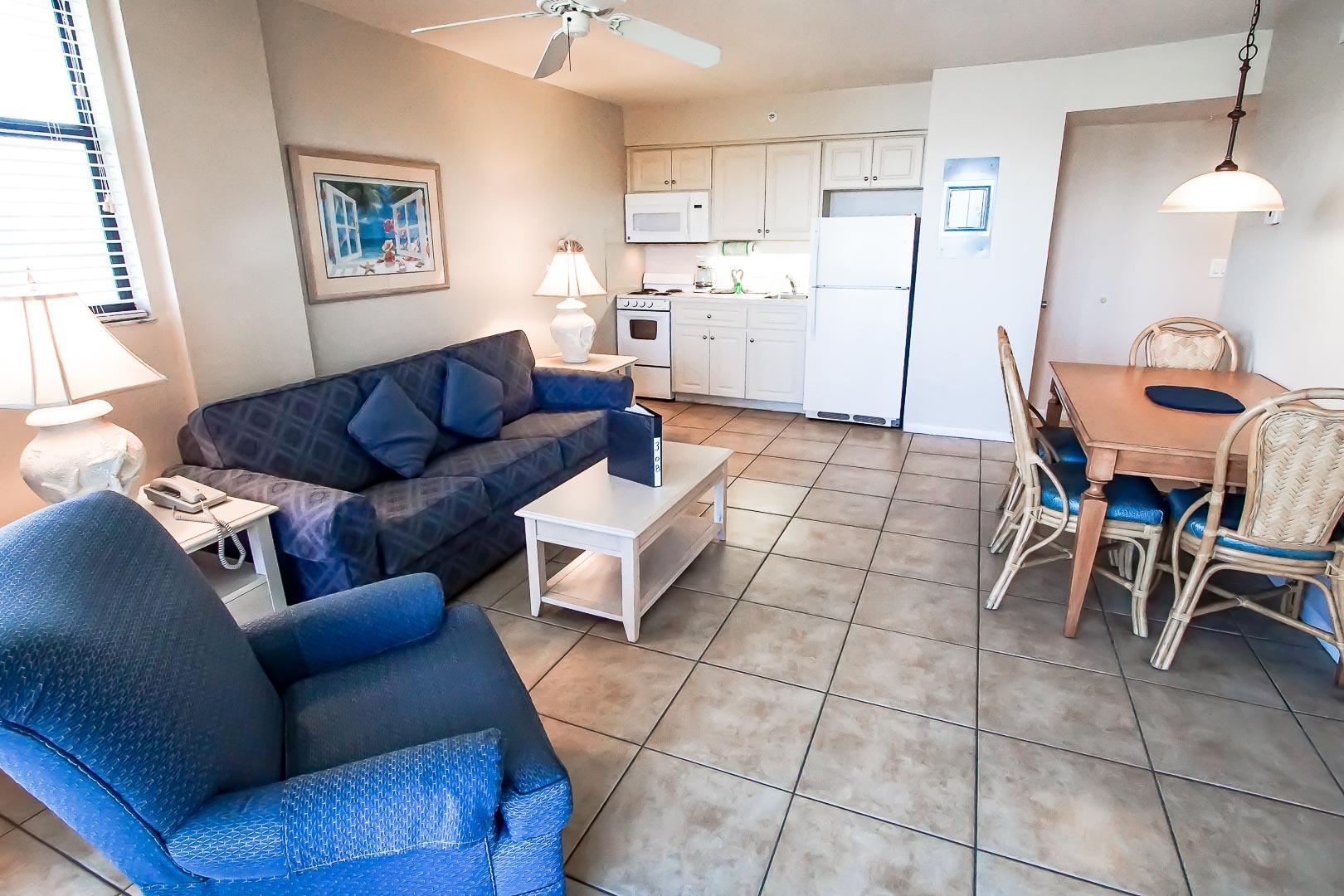 Bonita Resort Club Unit Interior - Living Room
