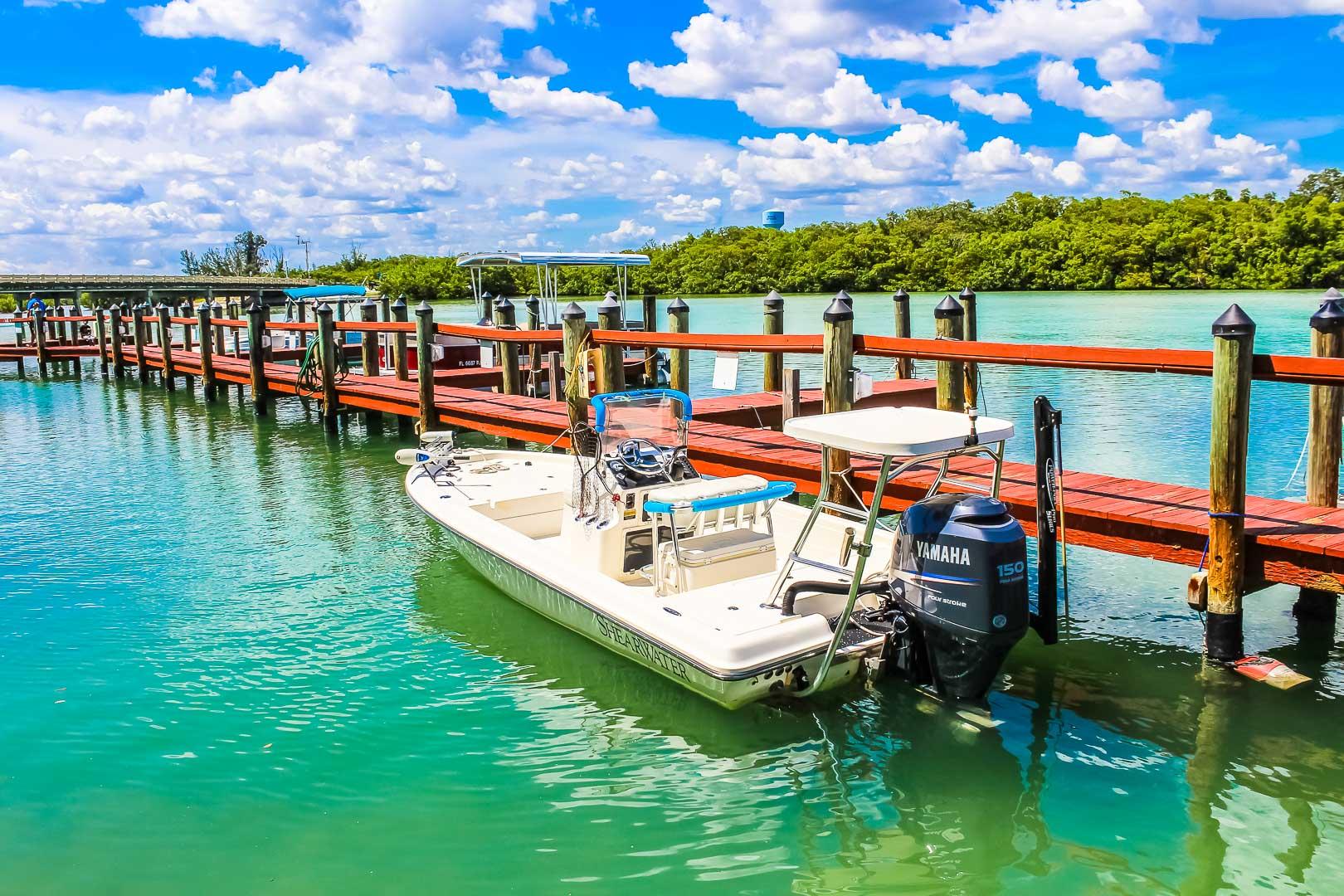 A beach view at VRI's Bonita Resort and Club in Florida.