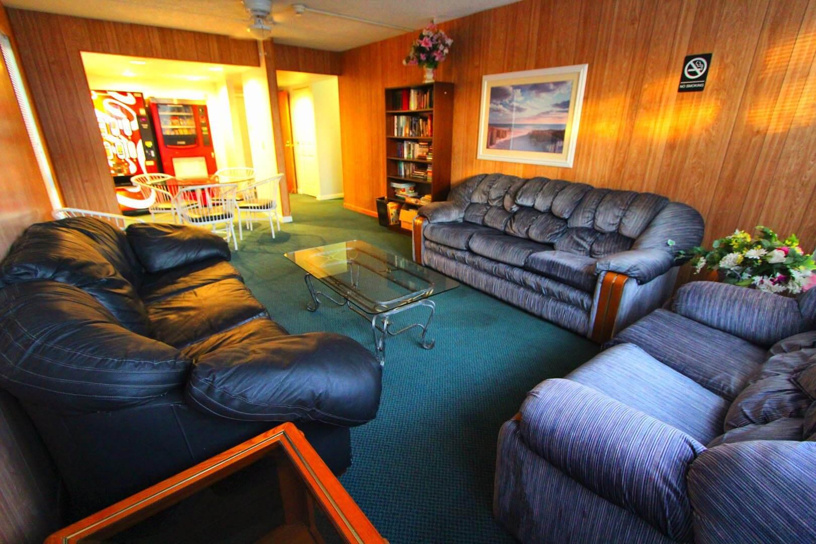 Brigantine Beach Club Living Room
