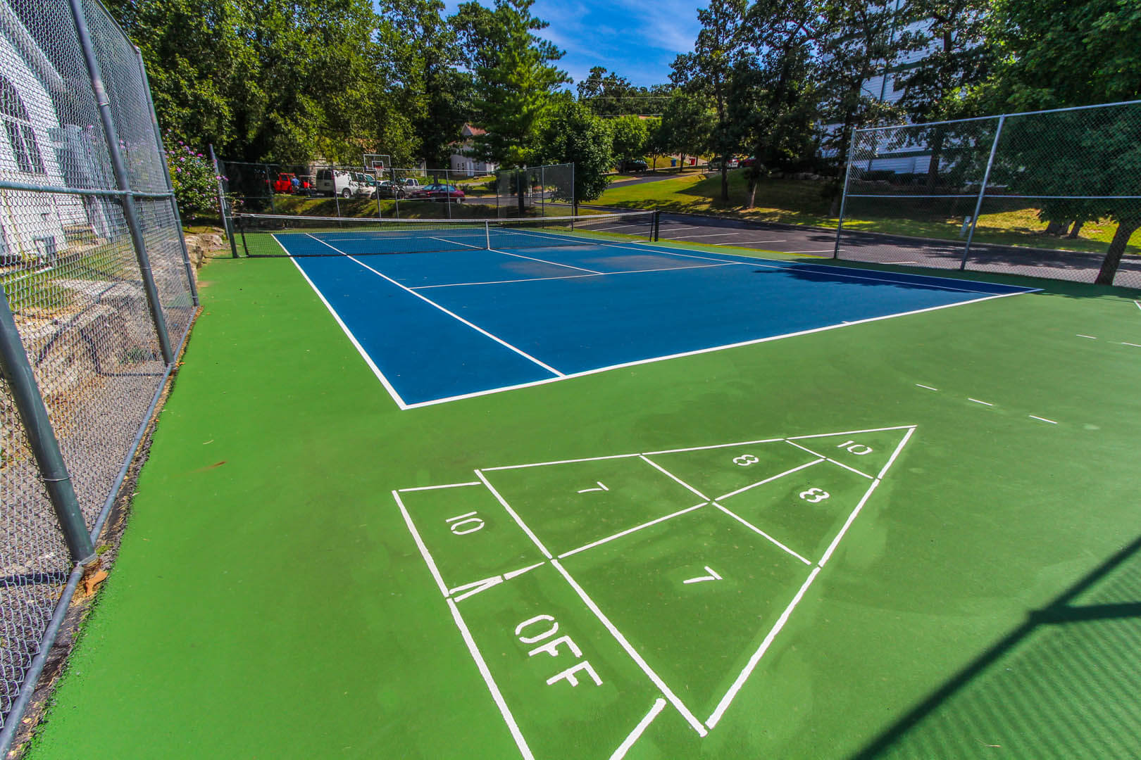 Carriage Place Resort Tennis Court