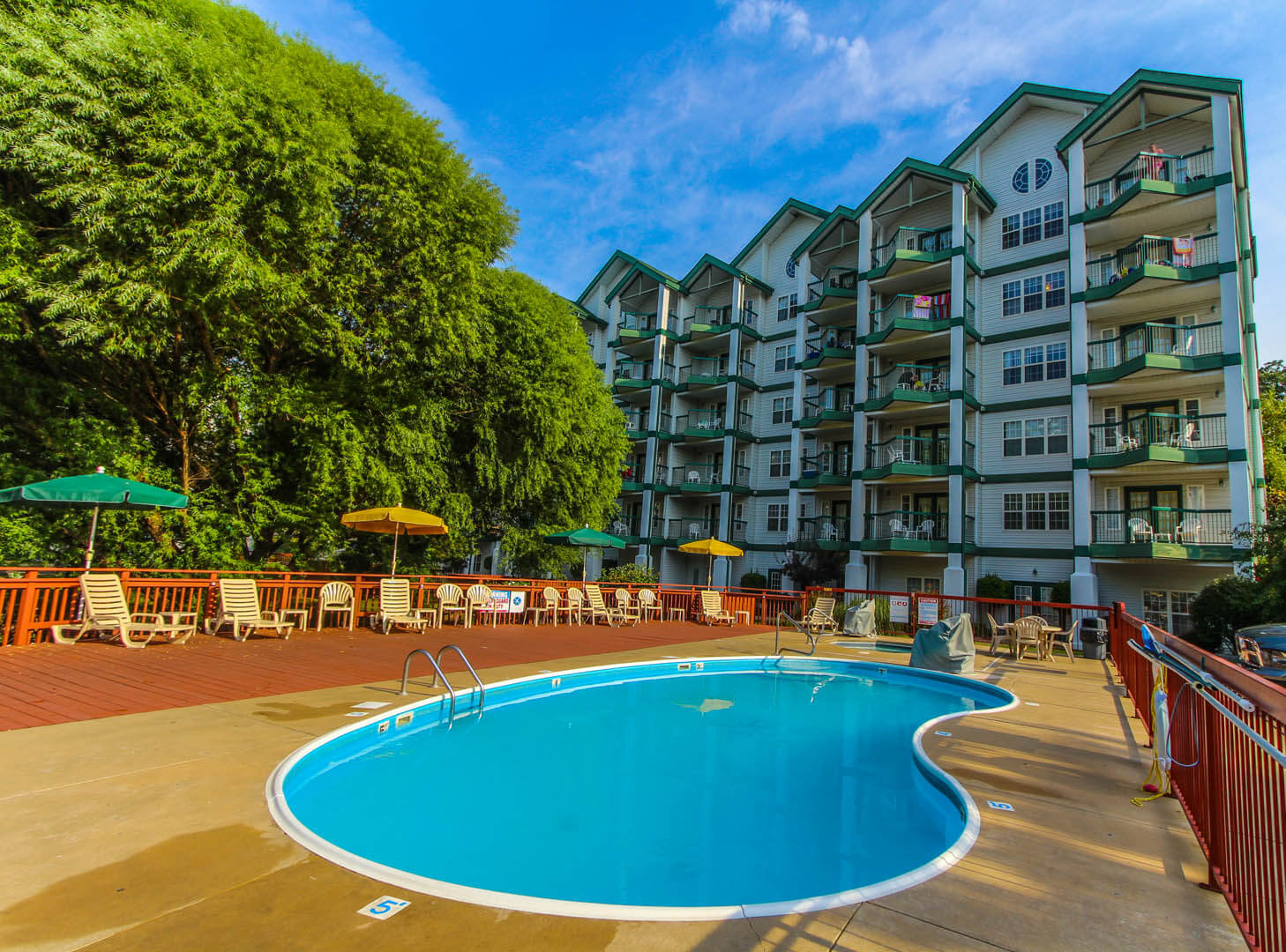 Carriage Place Resort Pool