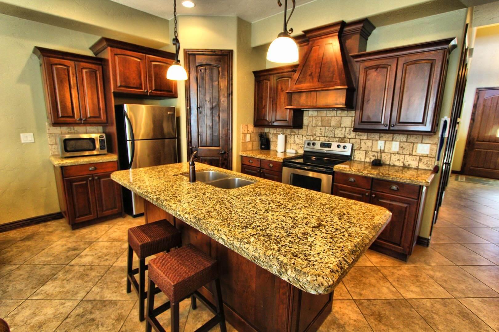 Canyon Villas Kitchen