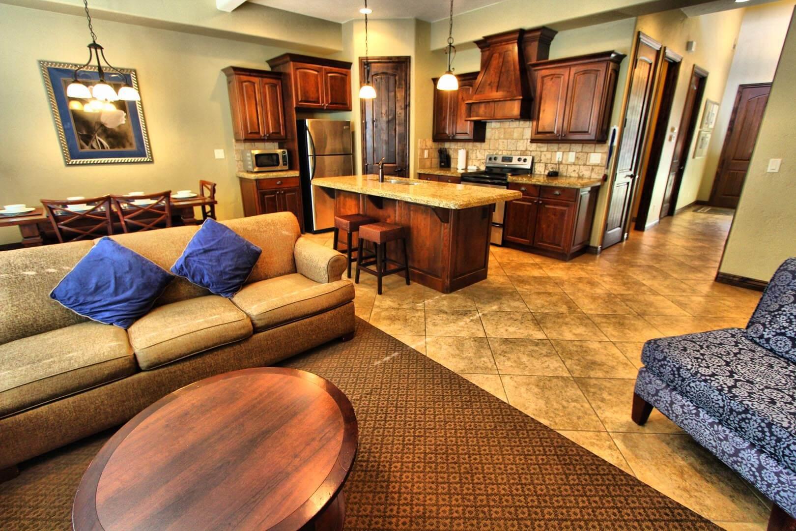 Canyon Villas Living Room
