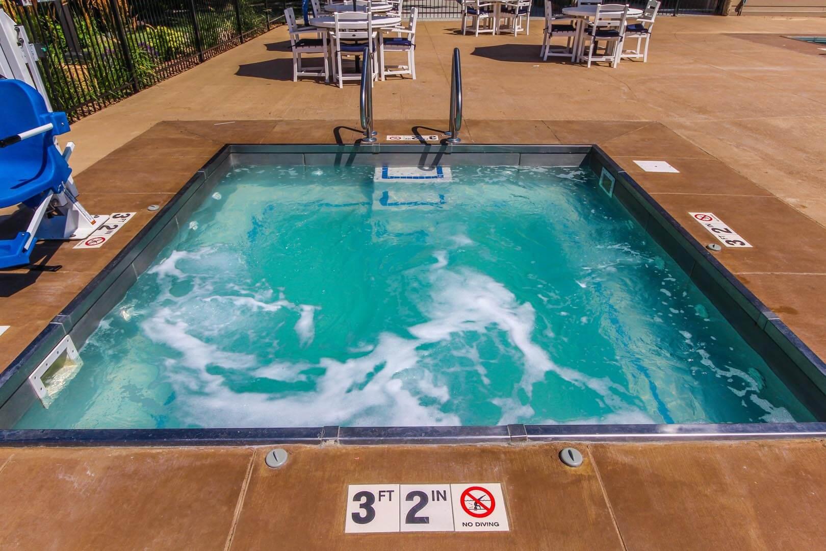 Clover Ridge Resort Jacuzzi