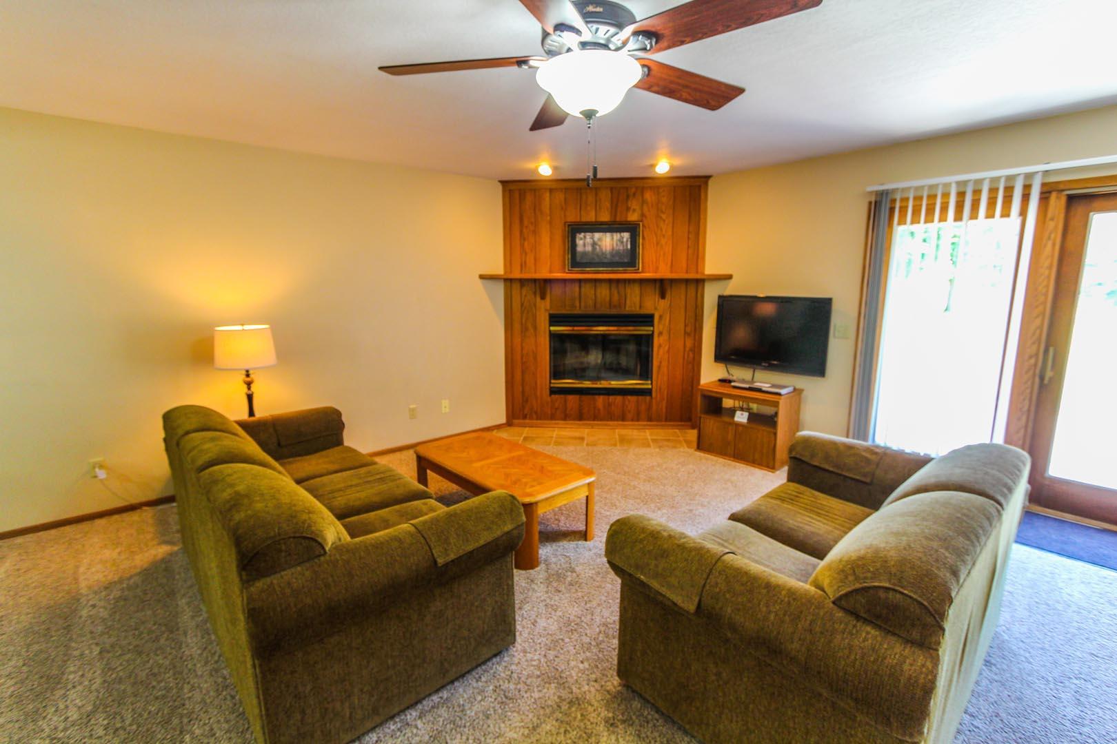 Clover Ridge Resort Living Room