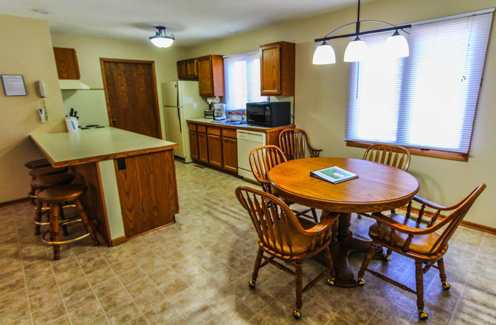 Clover Ridge Resort Dining Room