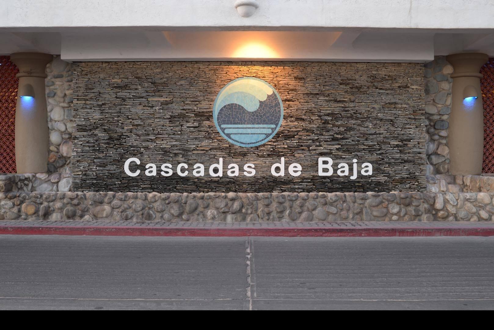Club Cascadas Resort Entrance