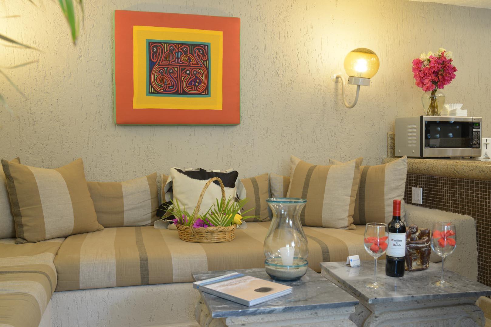 Club Cascadas Living Room