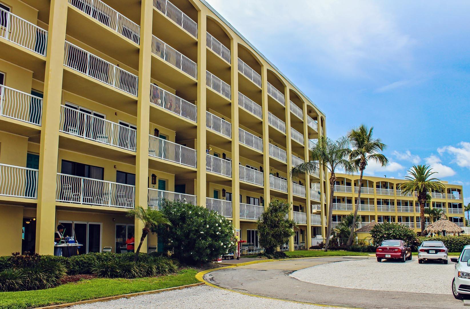 Coral Reef Beach Resort Building