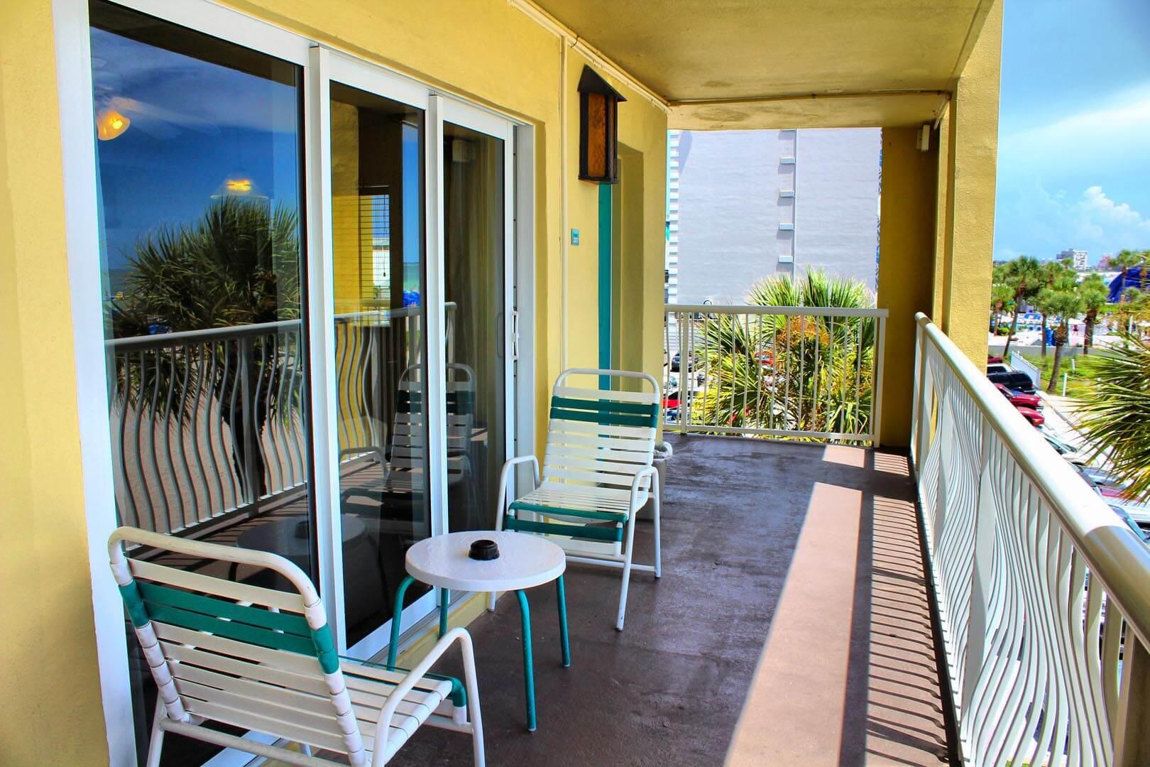 Coral Reef Beach Resort Balcony
