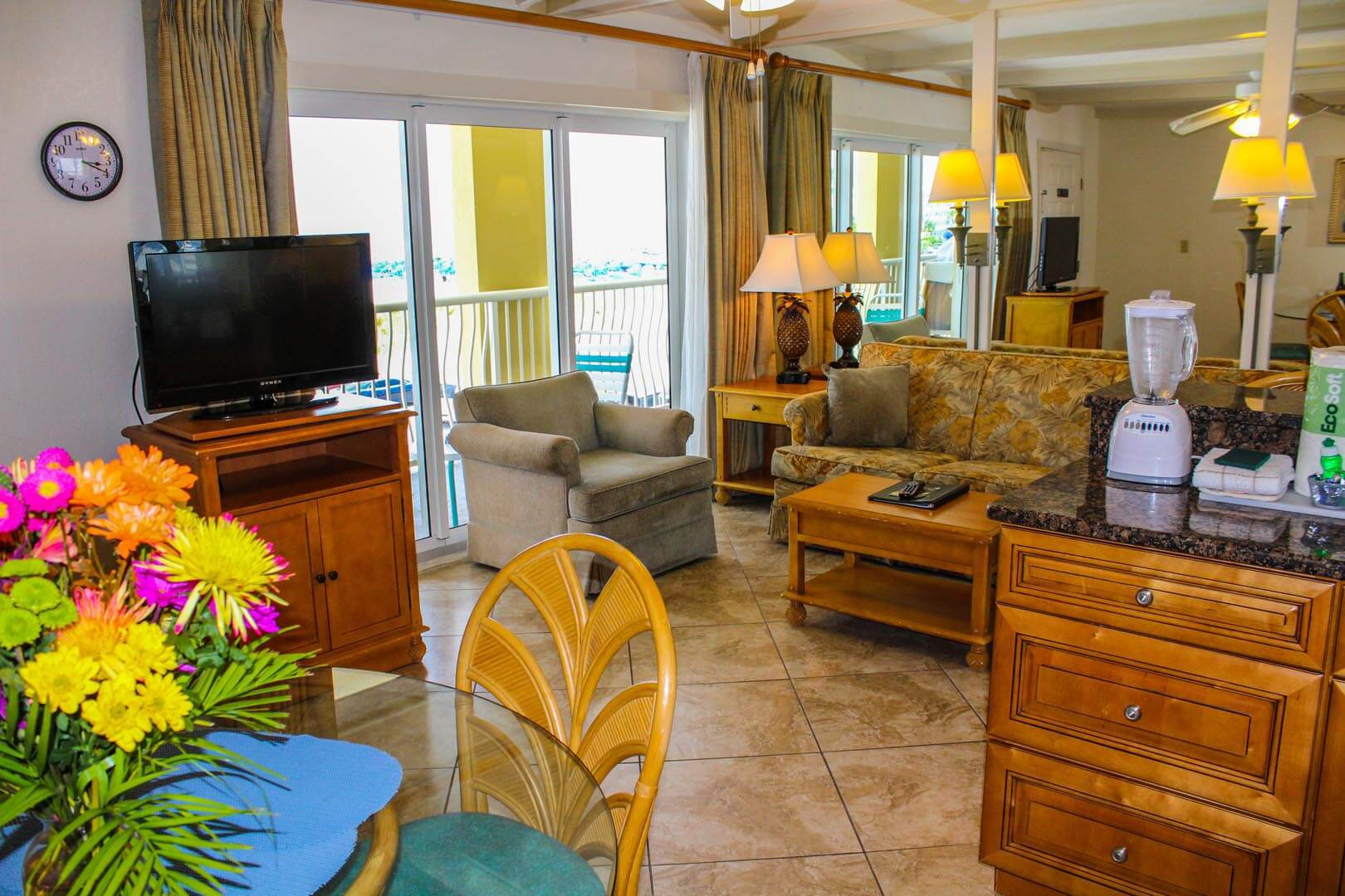 Coral Reef Beach Resort Living Room