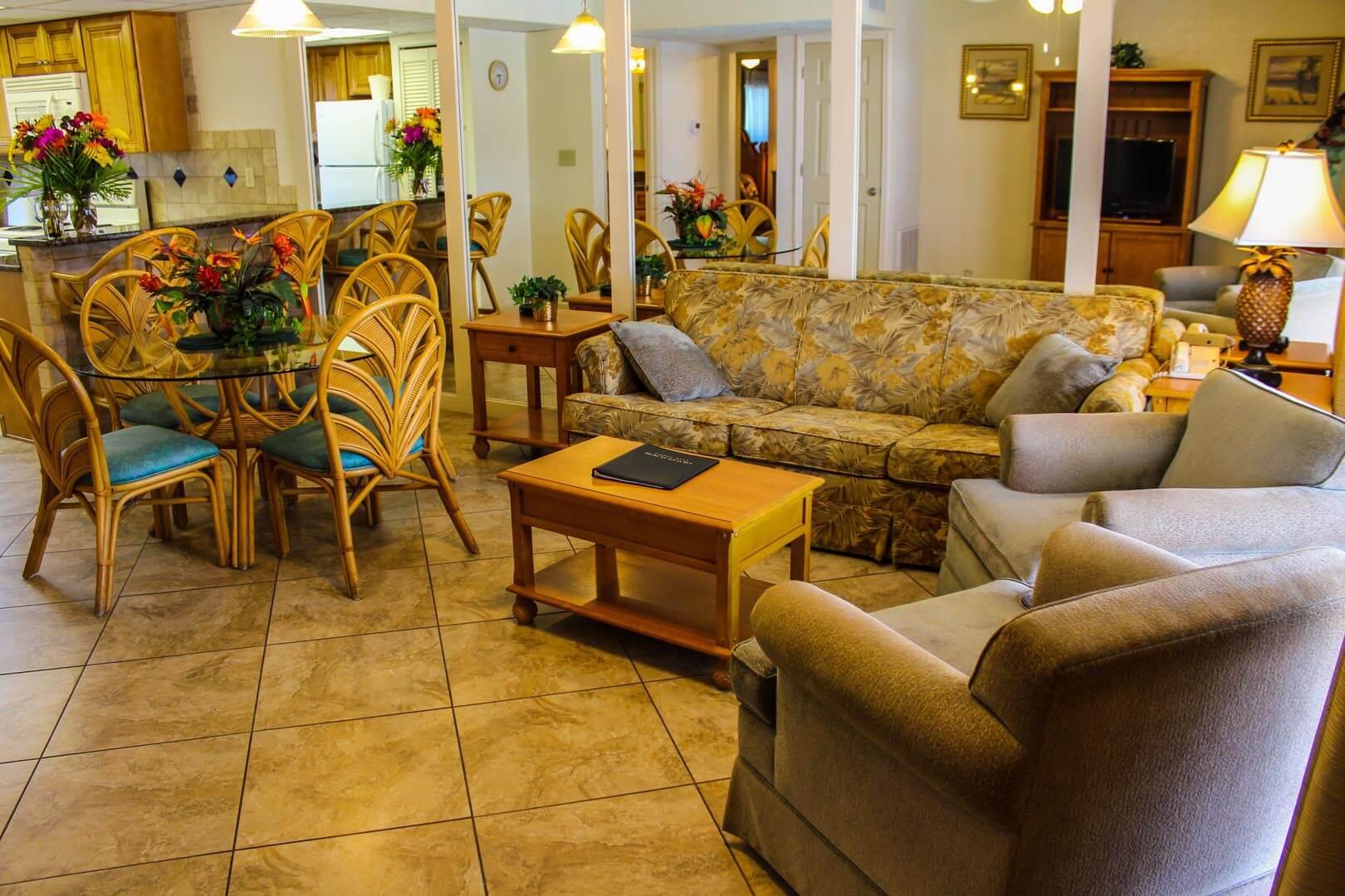 Coral Reef Beach Resort Living Room
