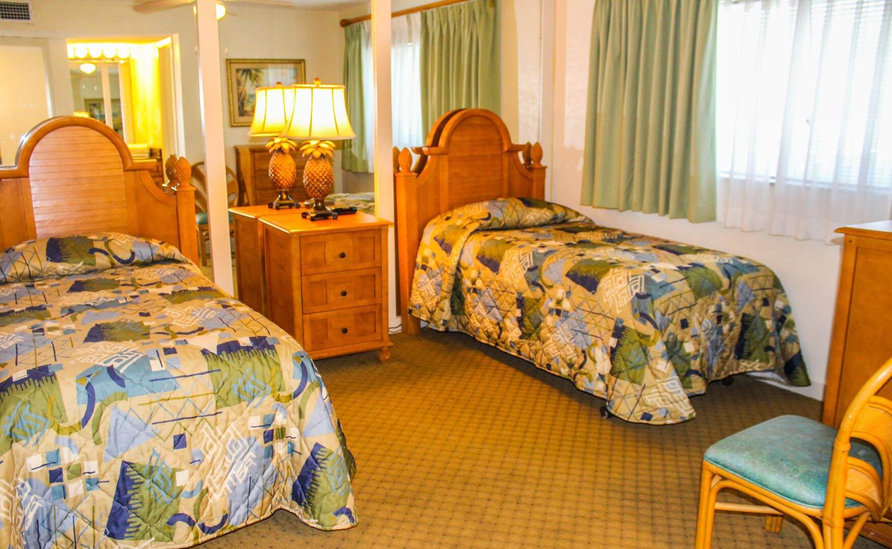 Coral Reef Beach Resort Bedroom