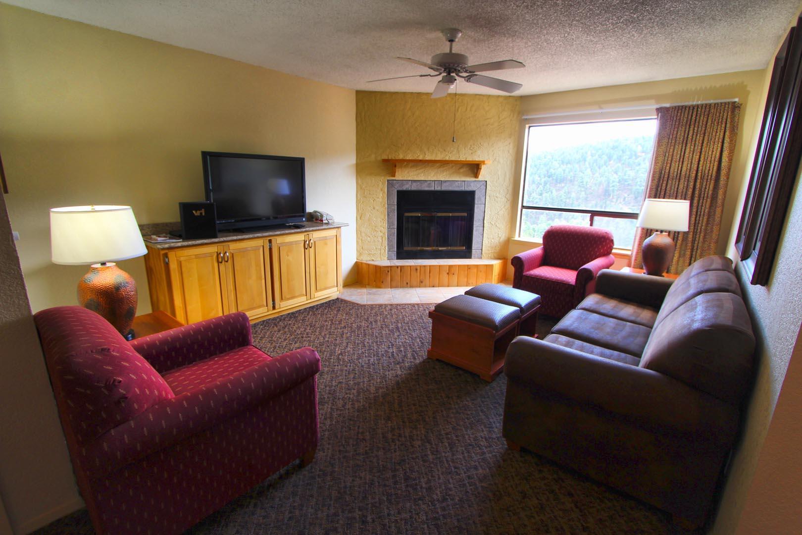 Crown Point Resort Living Room