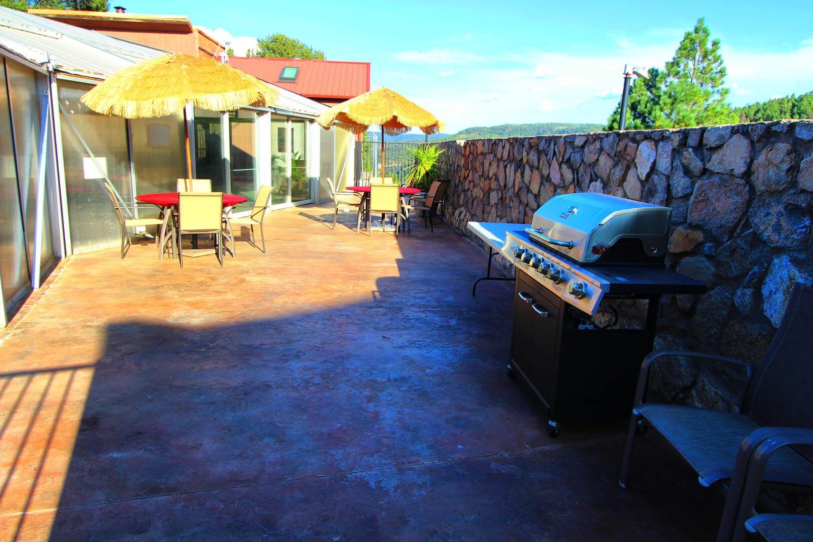 Crown Point Resort BBQ Grills