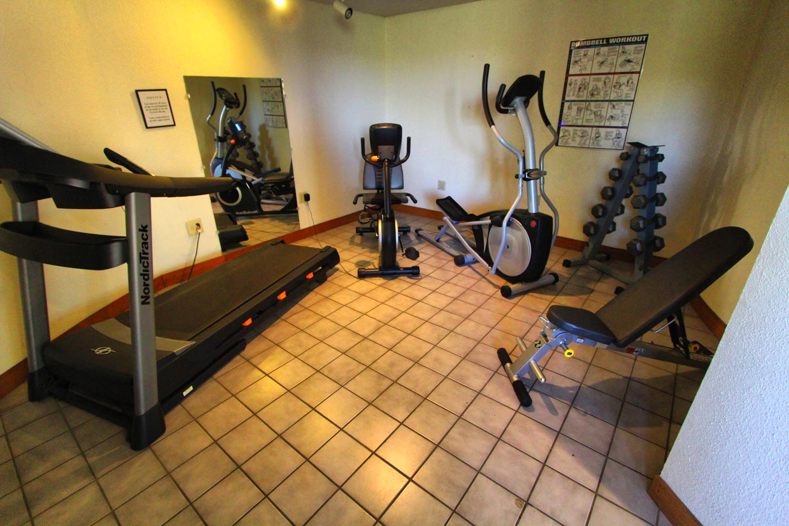 Crown Point Resort Gym