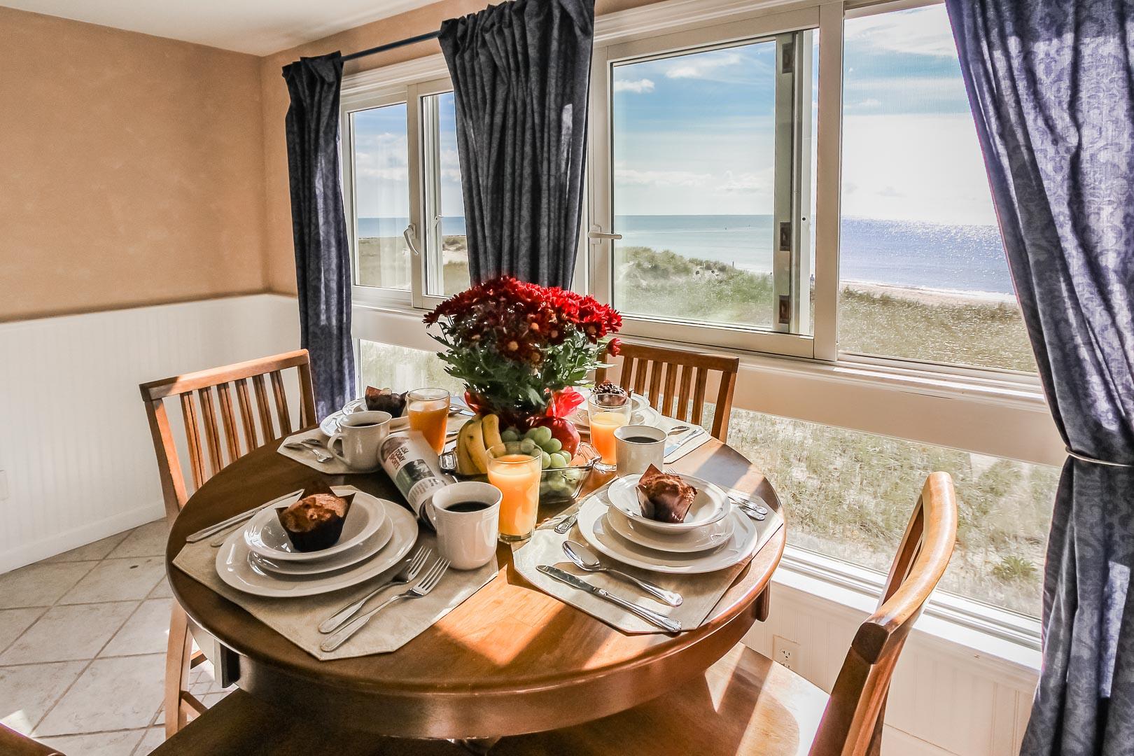 A scenic balcony view of VRI's Edgewater Beach Resort in Massachusetts.