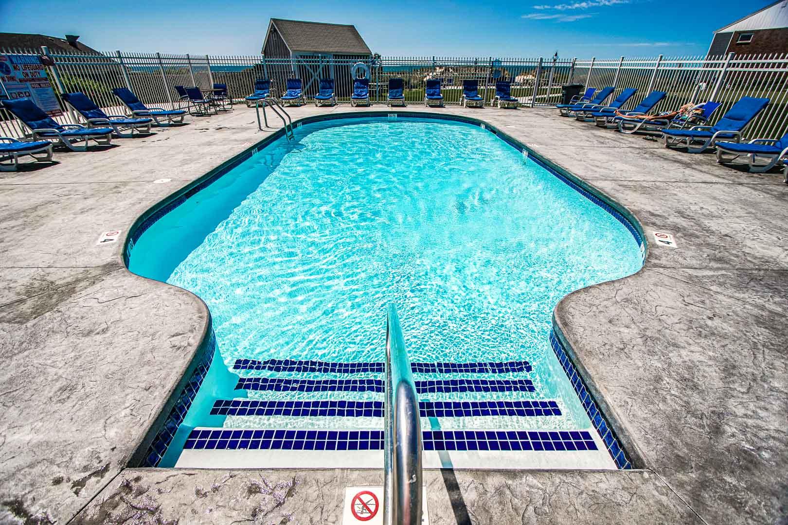 An expansive view of the resort at VRI's Edgewater Beach Resort in Massachusetts.