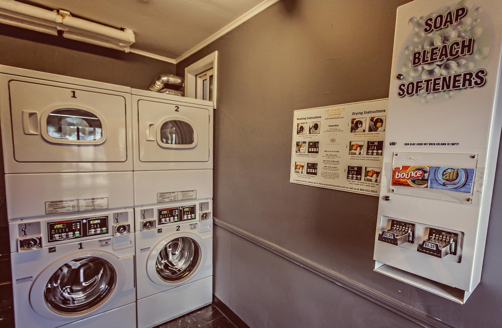 Edgewater Beach Resort Laundry Room