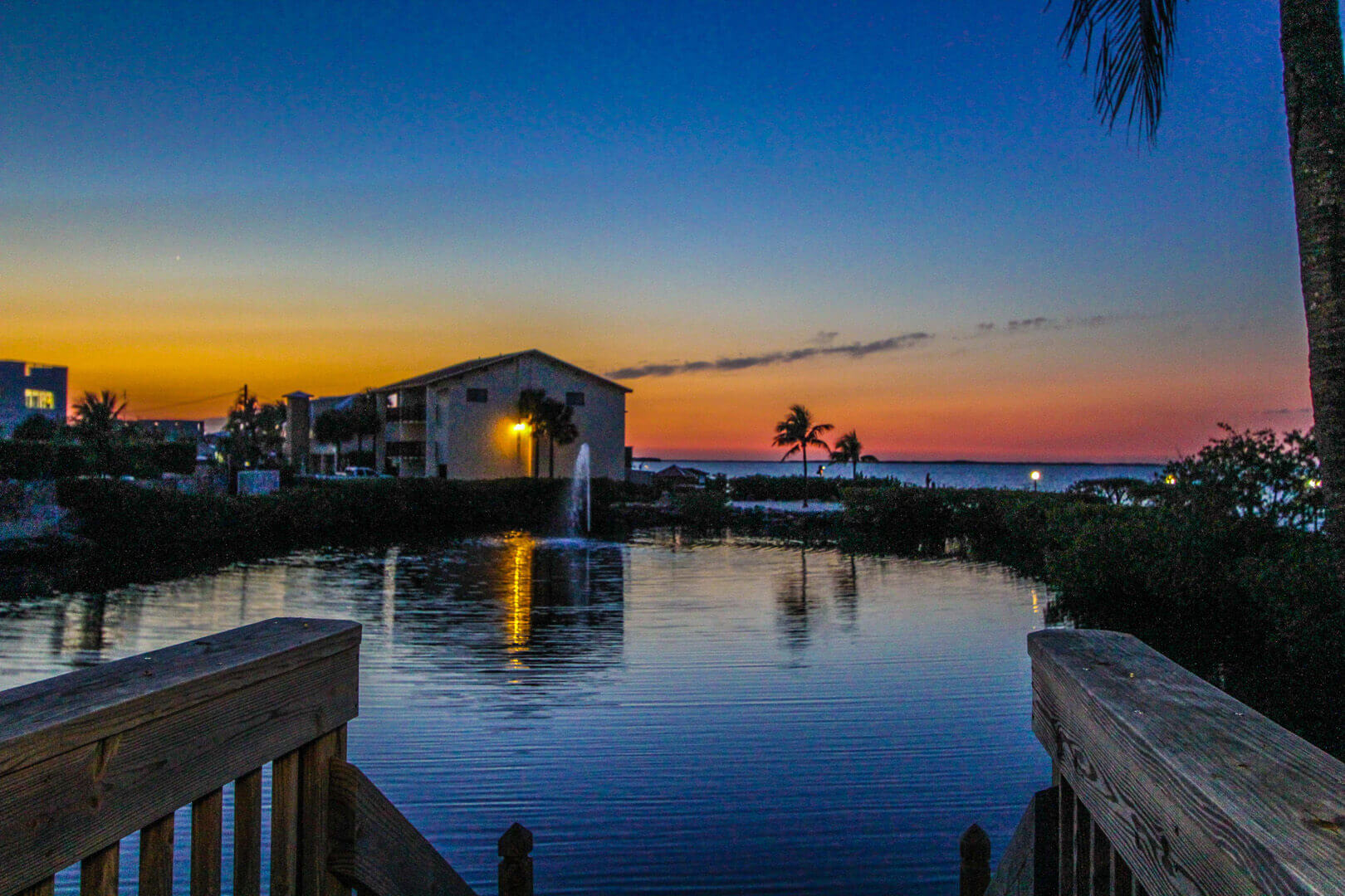 A lovely sunset view from VRI's Florida Bay Club in Florida.