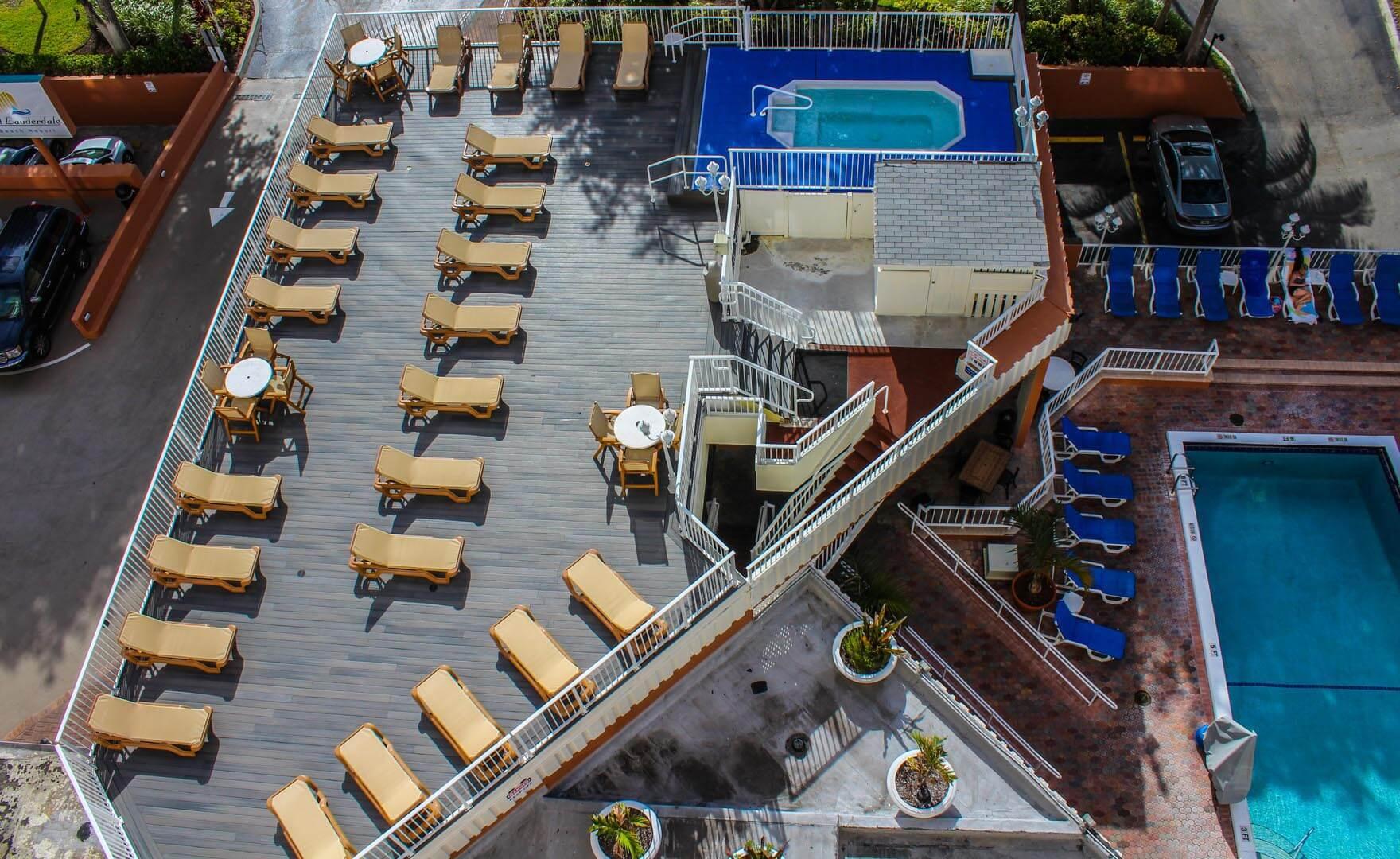 Ft Lauderdale Beach Resort Club Pool View