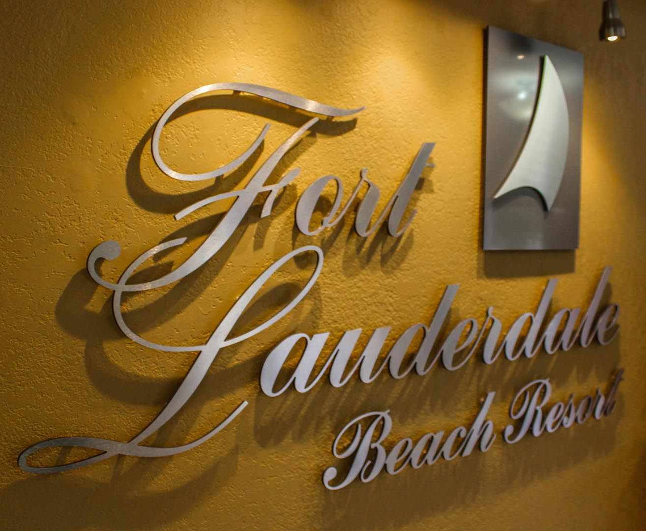 Ft Lauderdale Beach Resort Club Signage