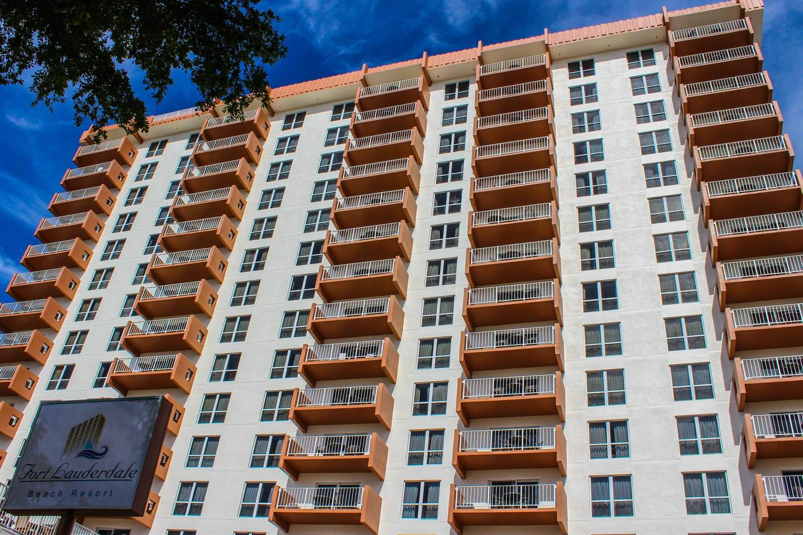Ft Lauderdale Beach Resort Club Building