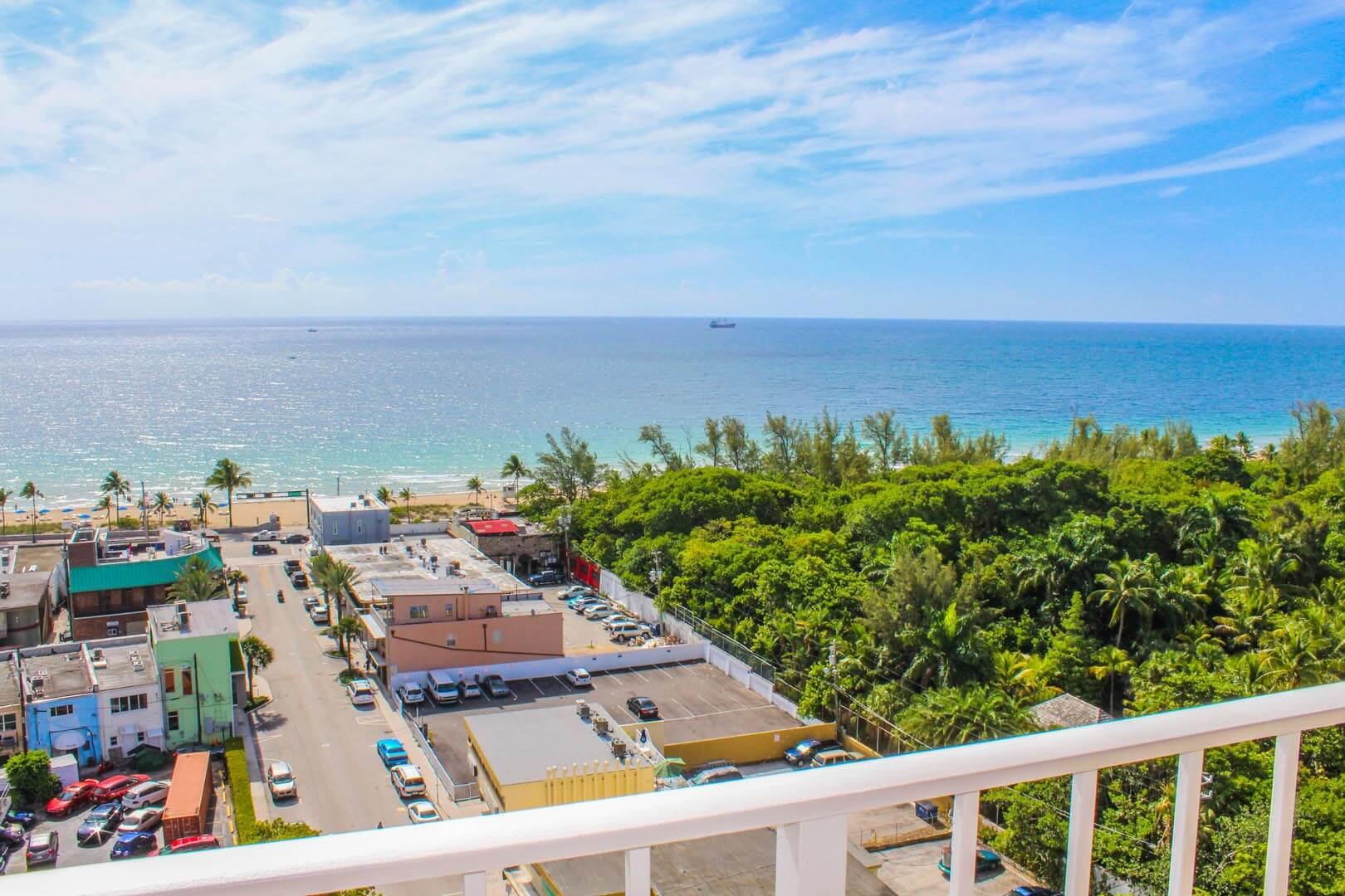 Ft Lauderdale Beach Resort Club Balcony View