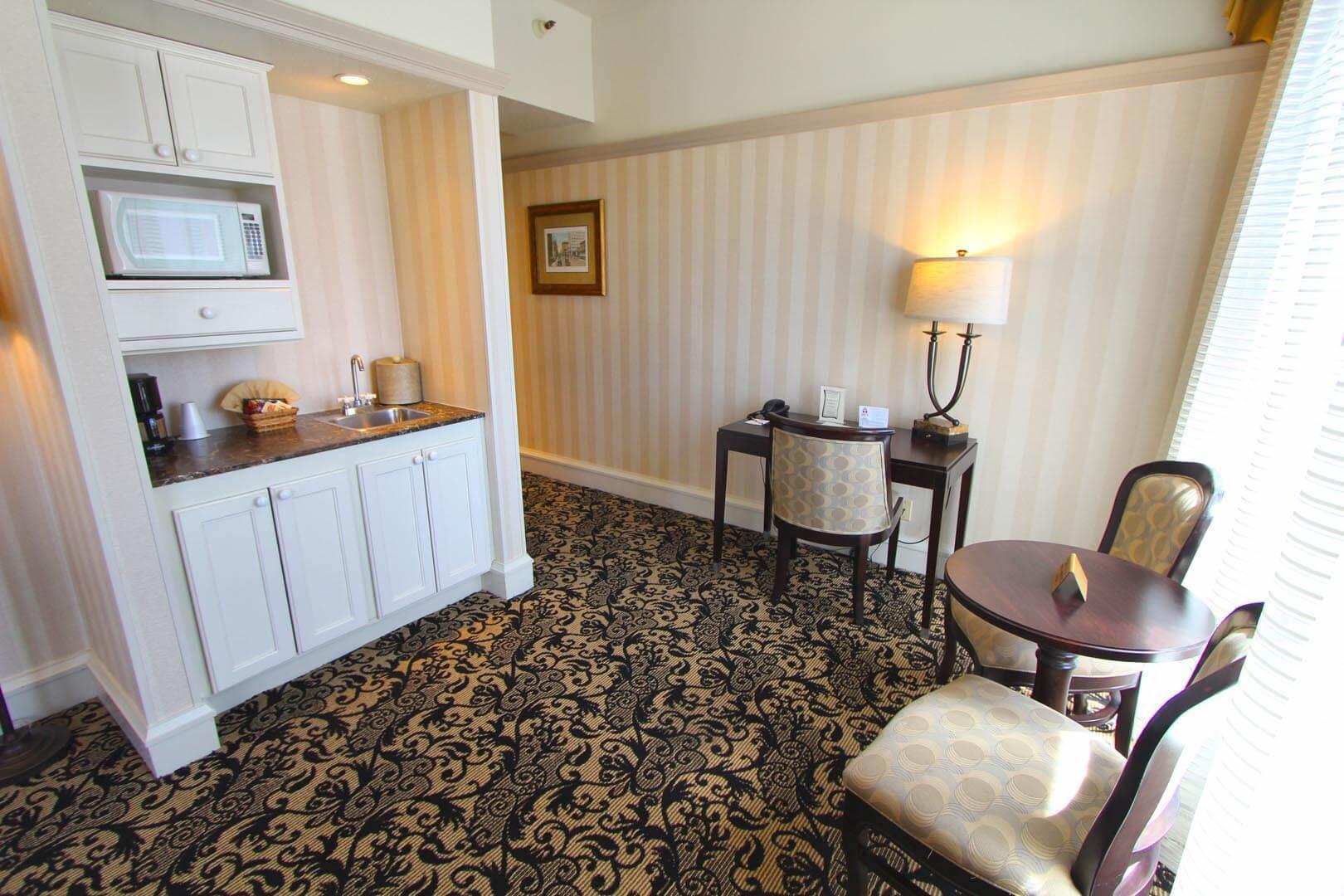 Gaslamp Plaza Resort Living Room