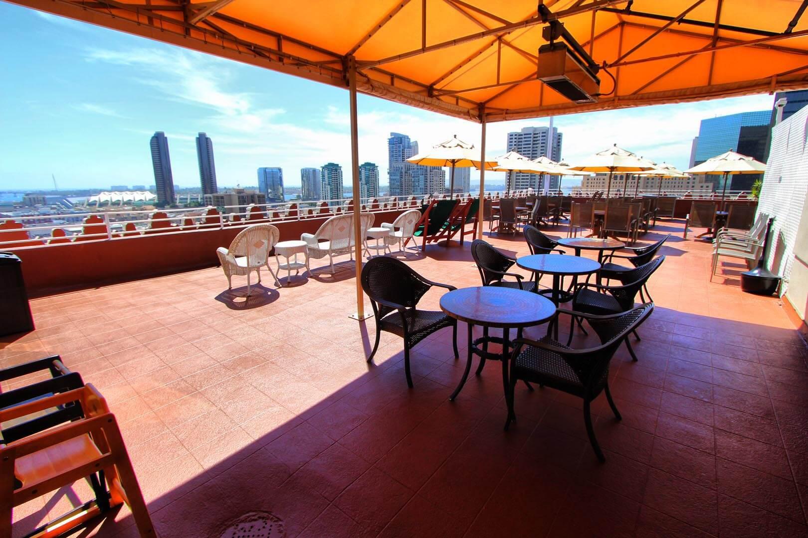 Gaslamp Plaza Resort Deck