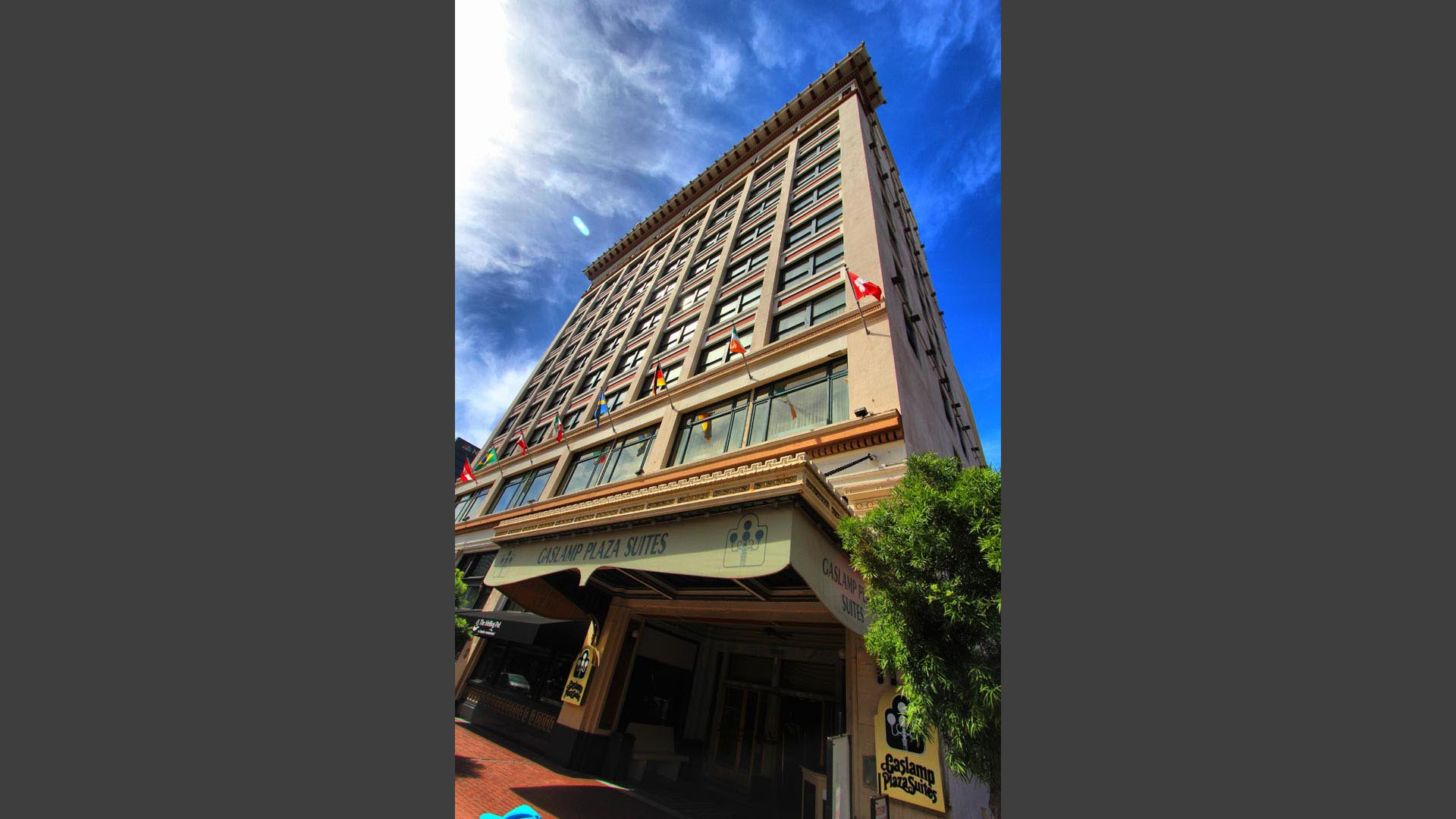 Gaslamp Plaza Resort Building