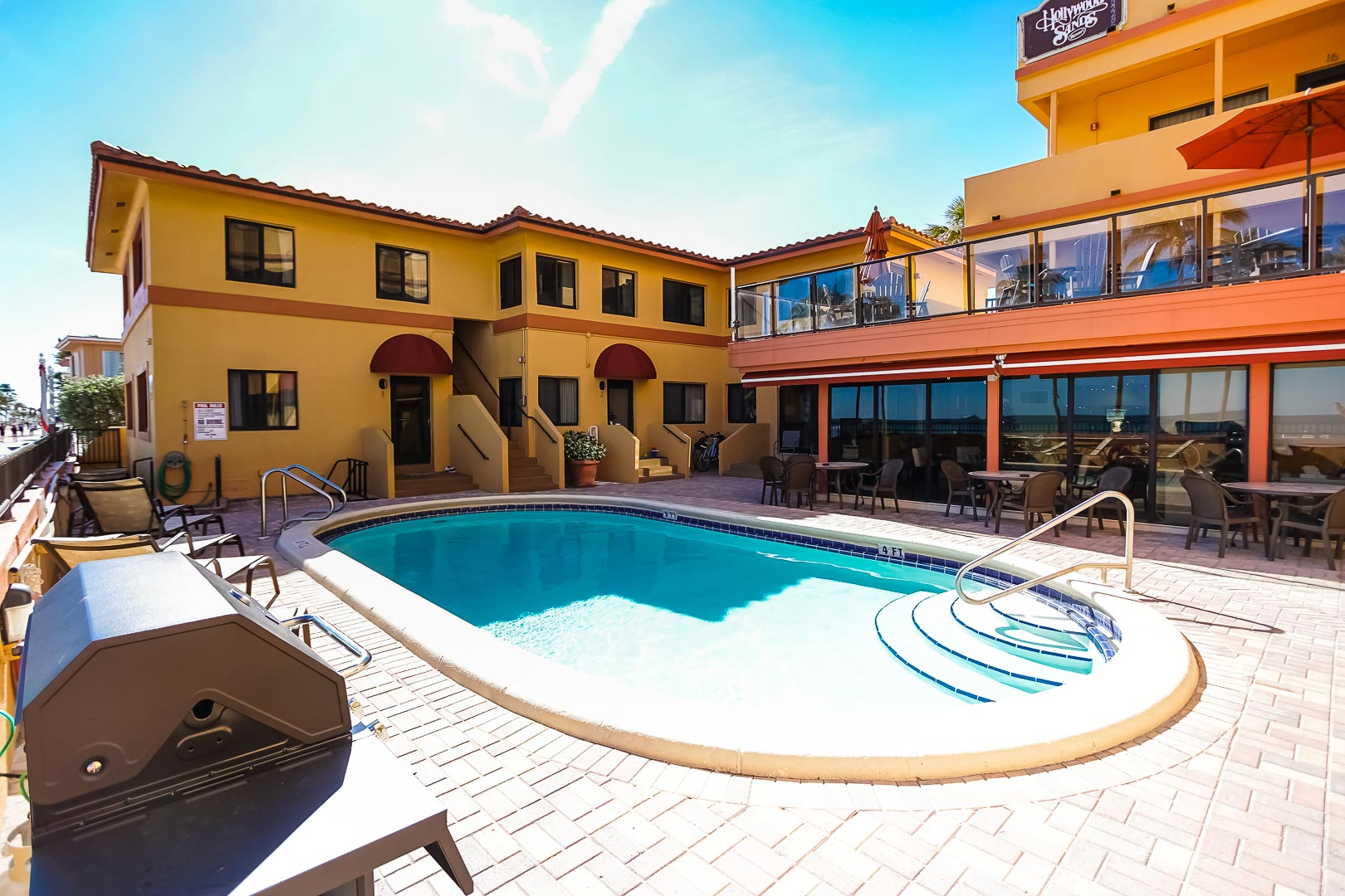 Hollywood Sands Resort Bedroom