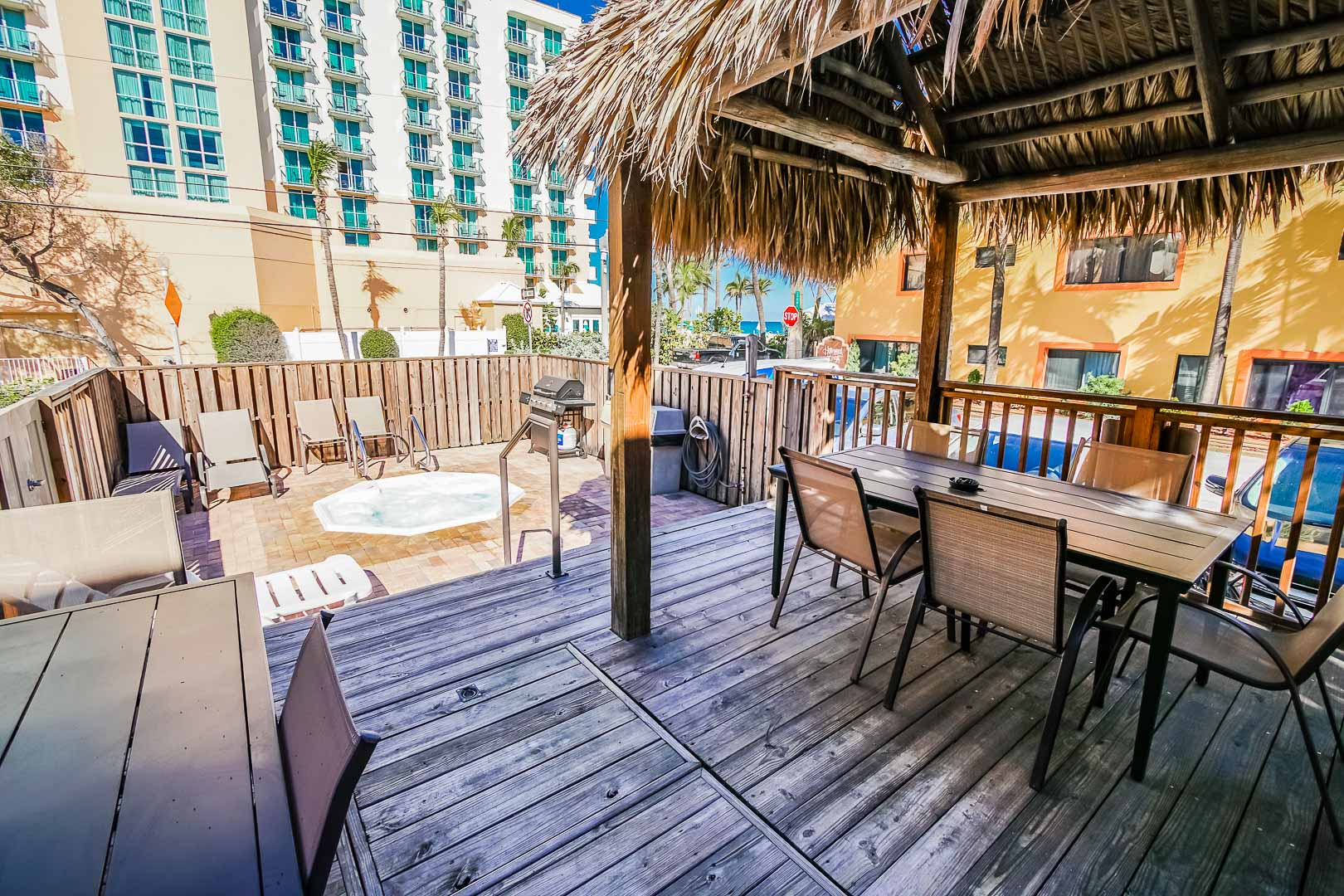 Hollywood Sands Resort Deck