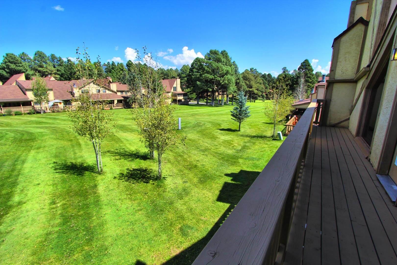 Innsbrooke Village Balcony View