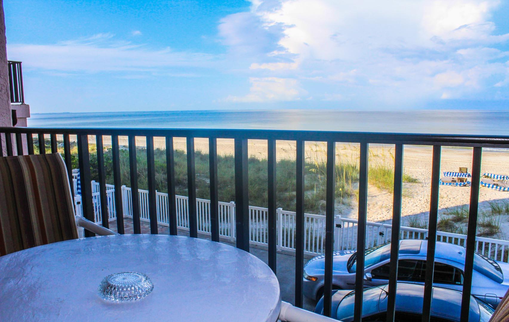 Island Gulf Balcony View