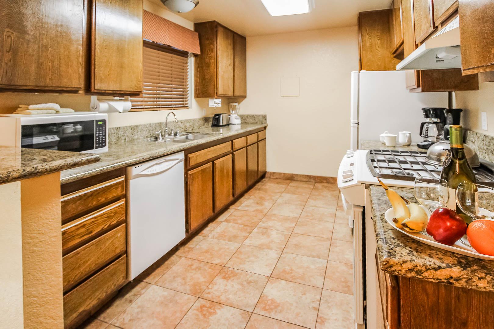 Lake Arrowhead Chalets Kitchen