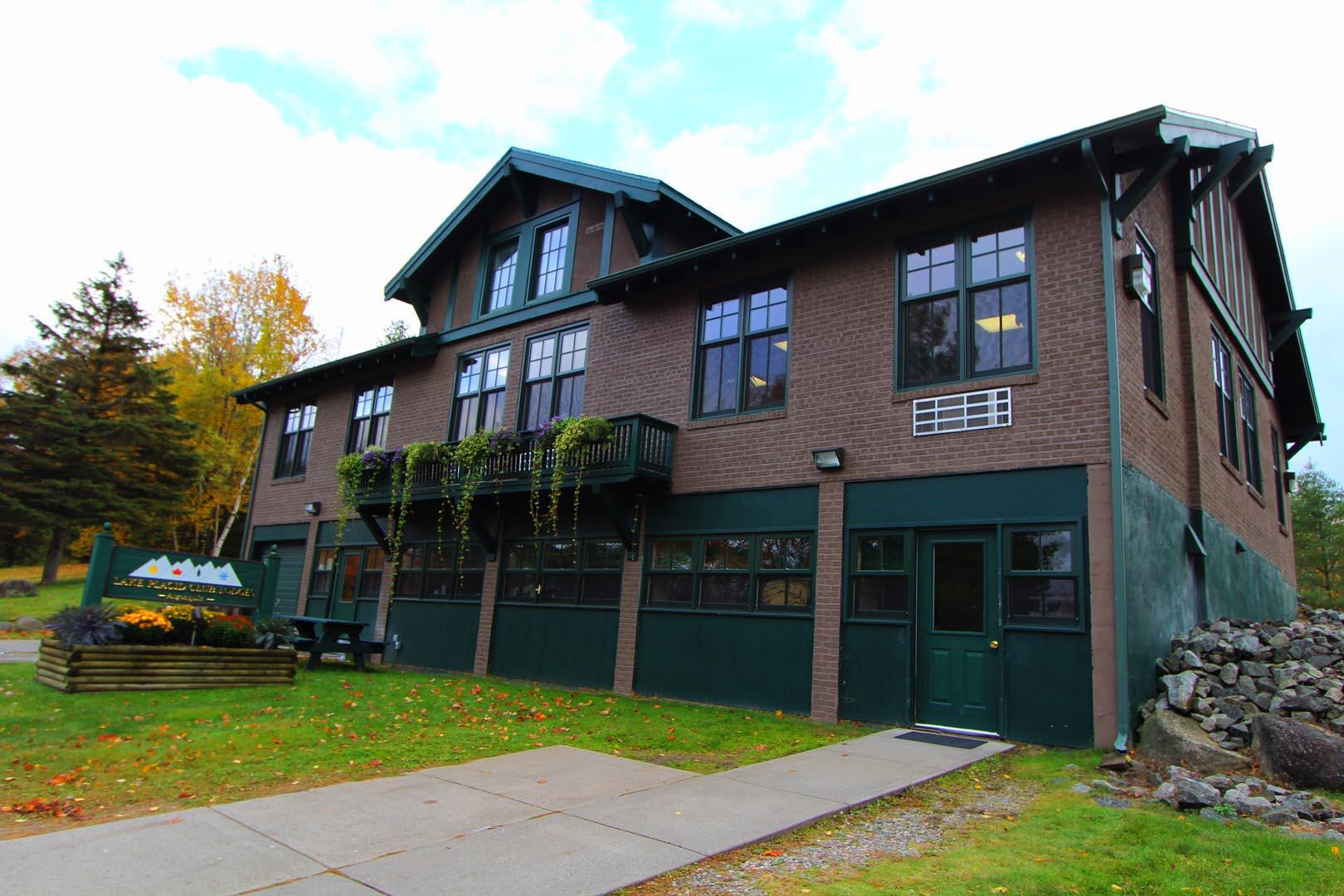 Lake Placid Club Lodges Building