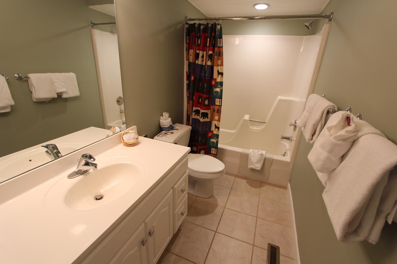Lake Placid Club Lodges Bathroom