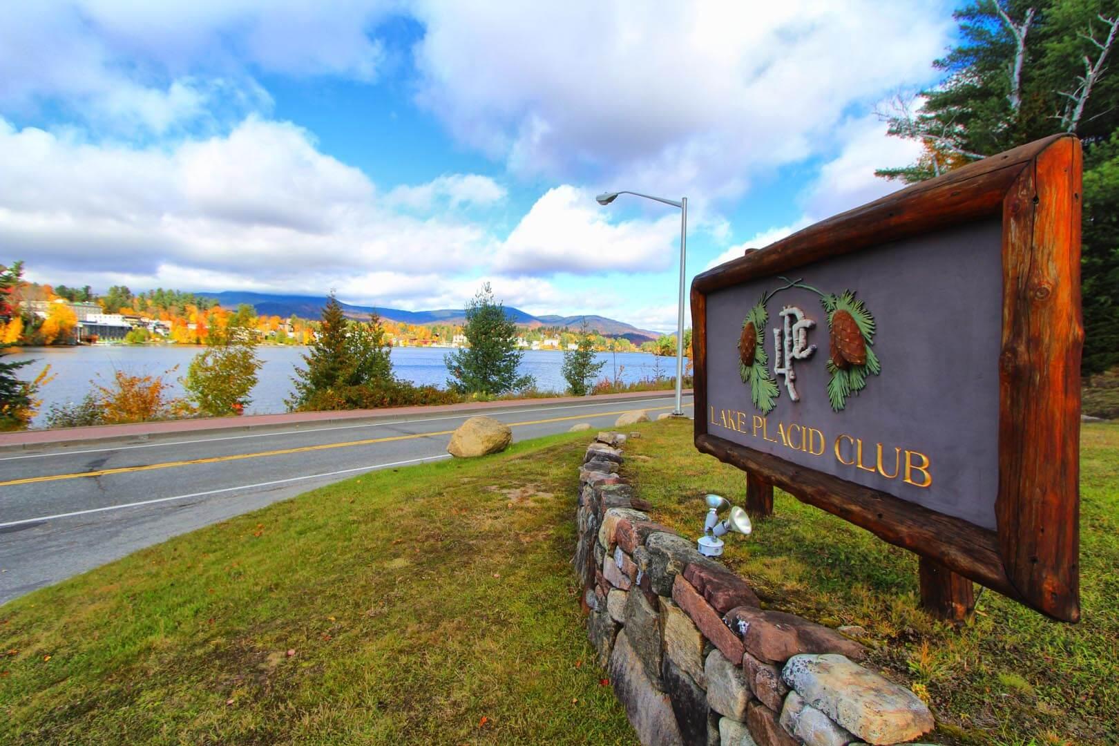 Lake Placid Club Lodges Signage