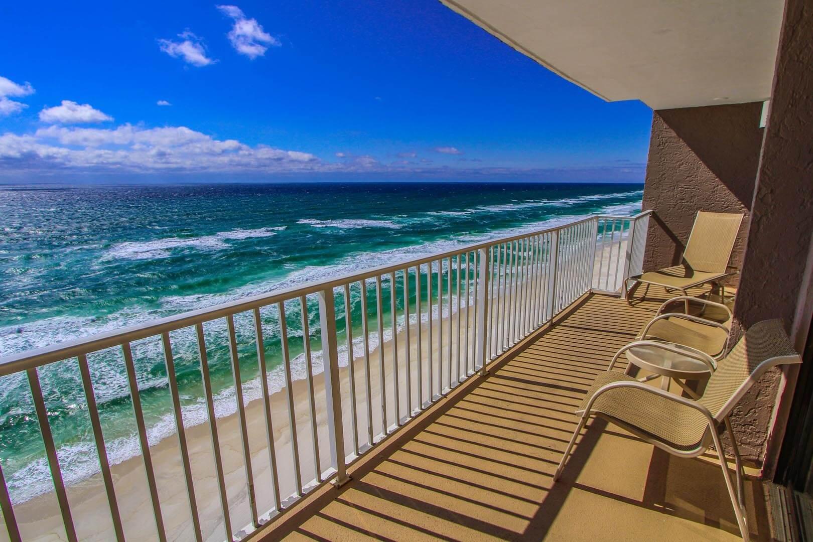 Landmark Holiday Beach Resort Balcony View