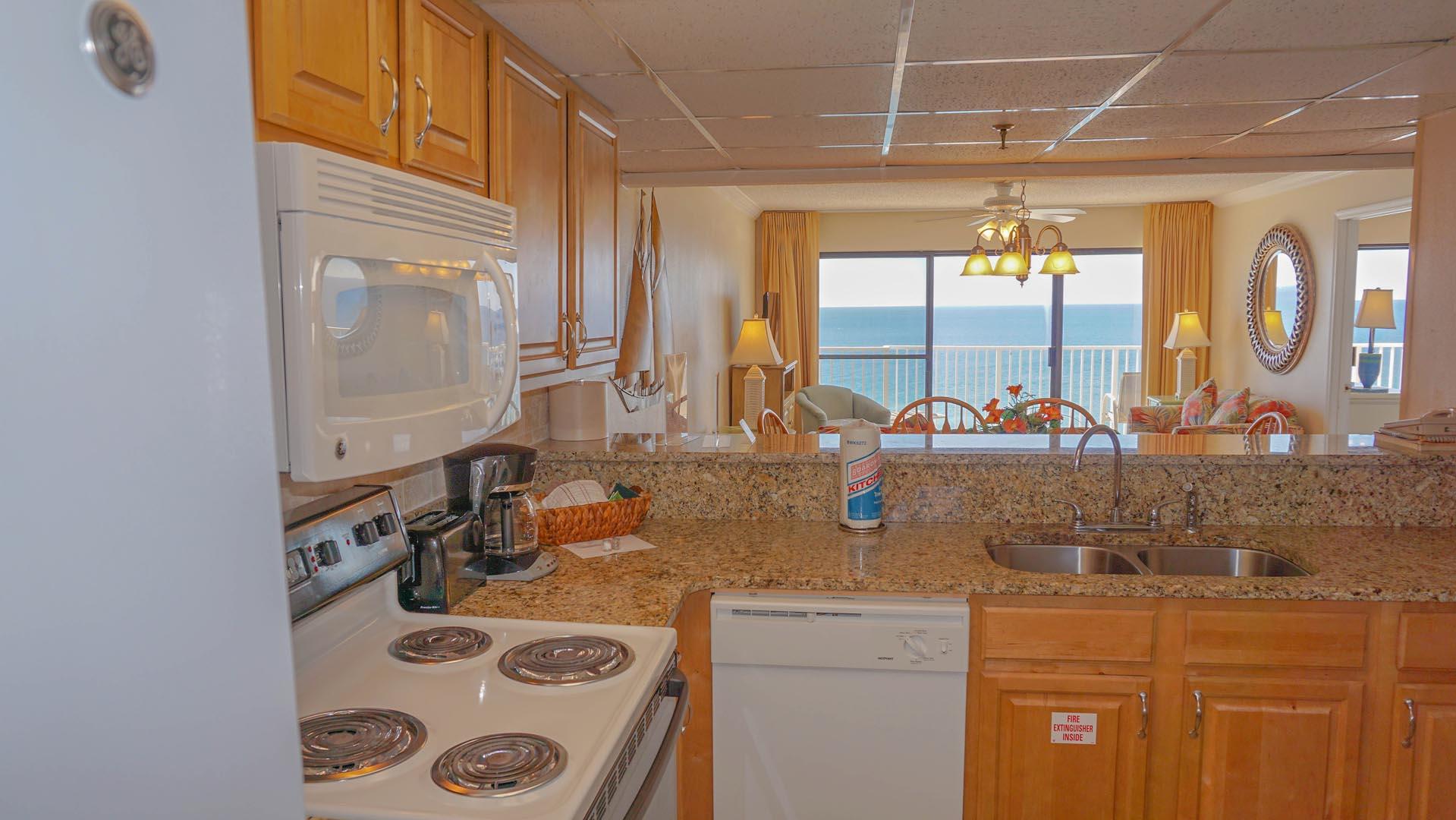 Landmark Holiday Beach Resort Kitchen