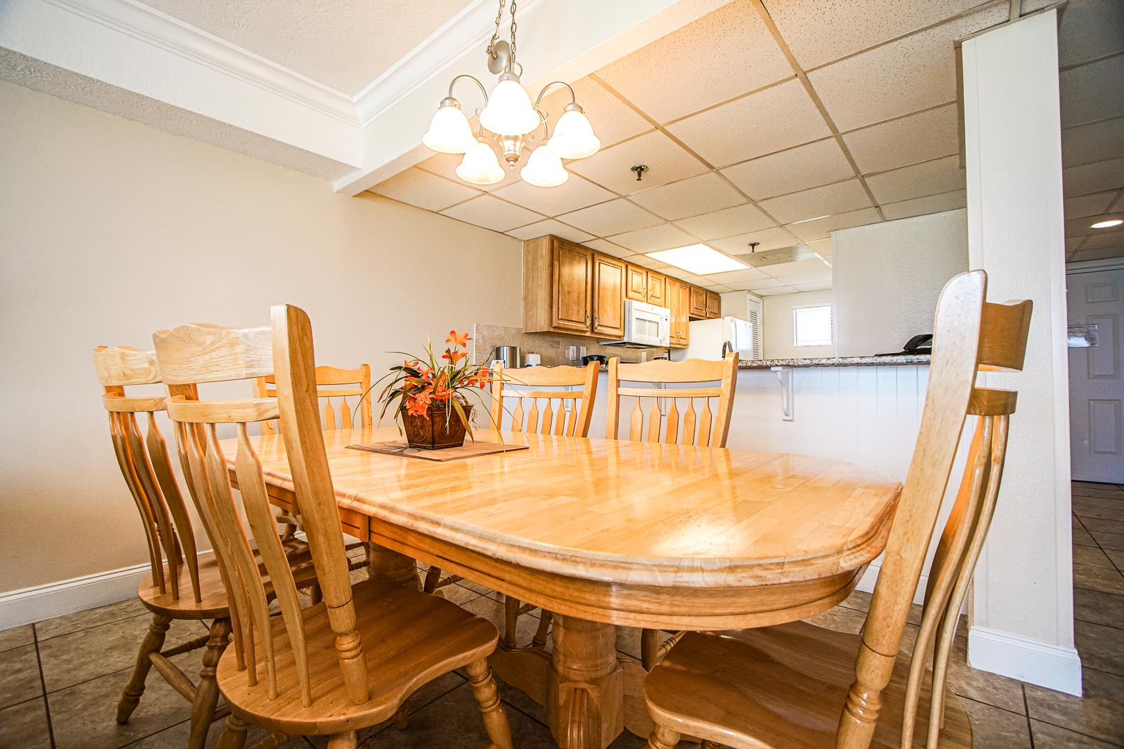 Landmark Holiday Beach Resort - Unit Interior -Living Room