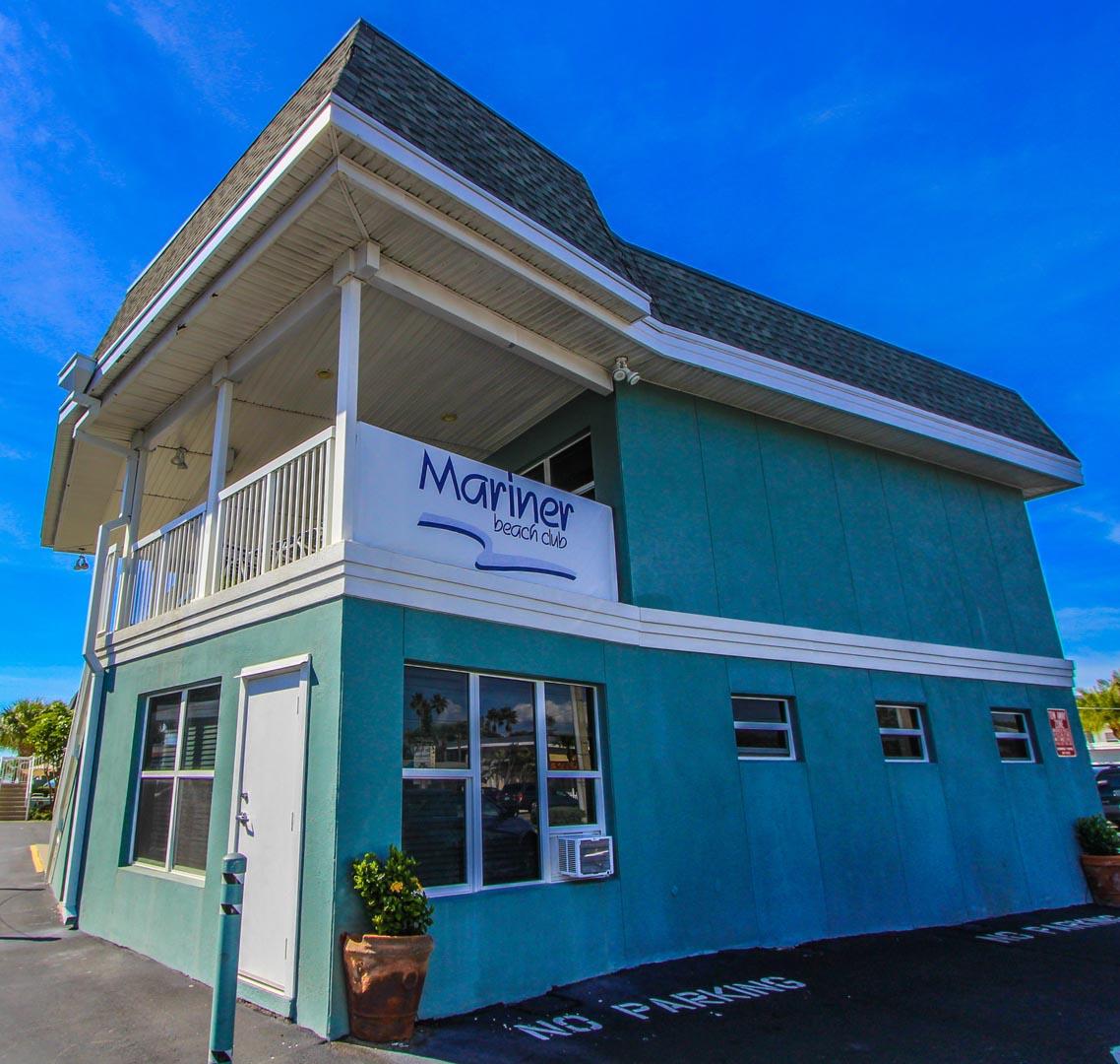 Mariner Beach Entrance